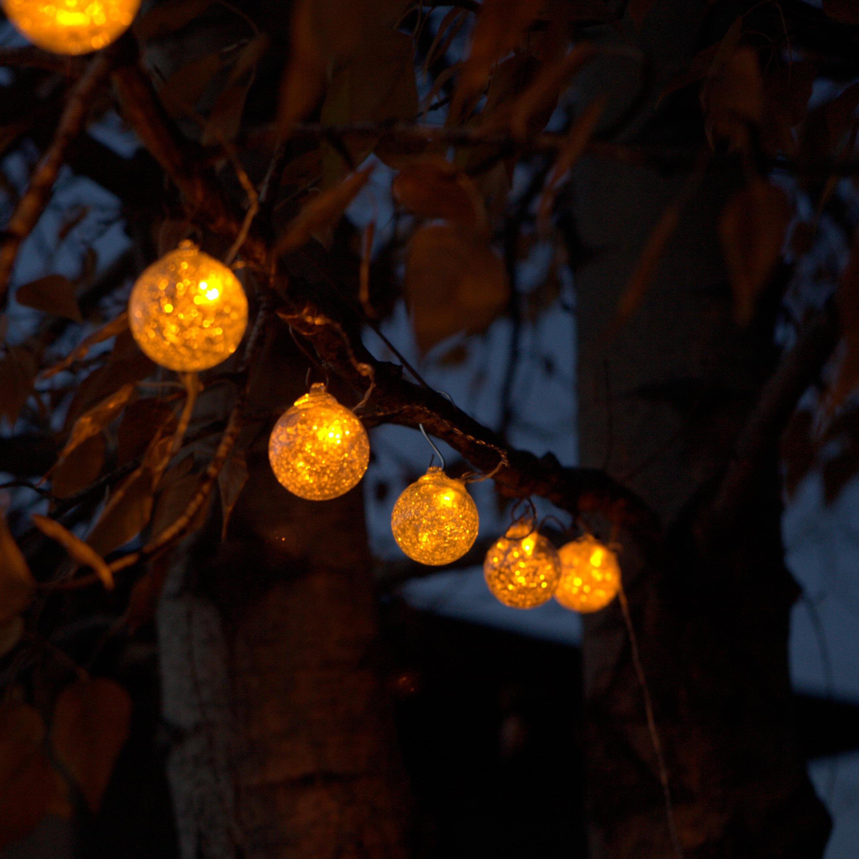 Allsop Home and Garden Aurora Glow 6-Light 25 ft. Globe String Lights & Reviews Wayfair