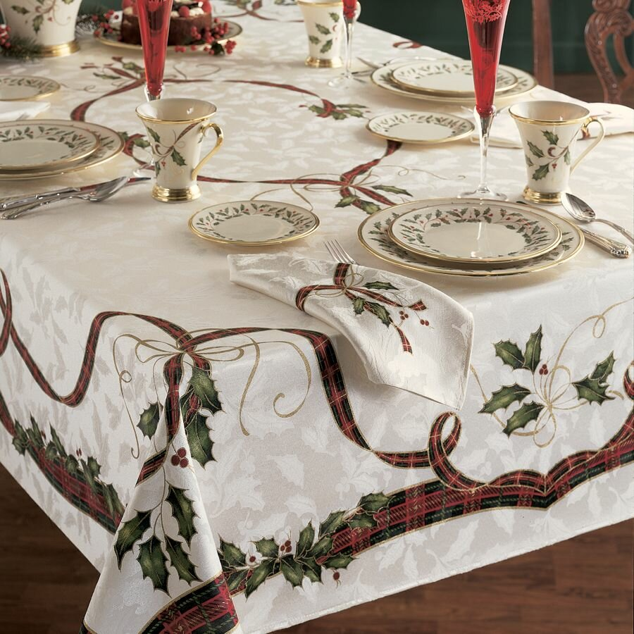 Lenox Holiday Nouveau Tablecloth amp Reviews Wayfairca : Lenox Holiday Nouveau Tablecloth from www.wayfair.ca size 900 x 900 jpeg 215kB