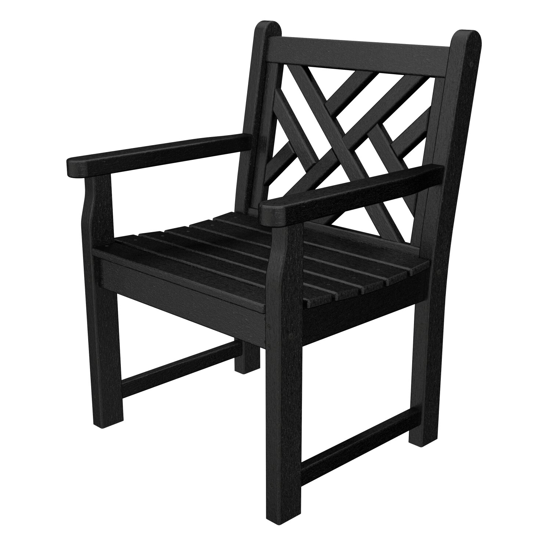 Polywood Chippendale Garden Arm Chair Reviews Wayfair