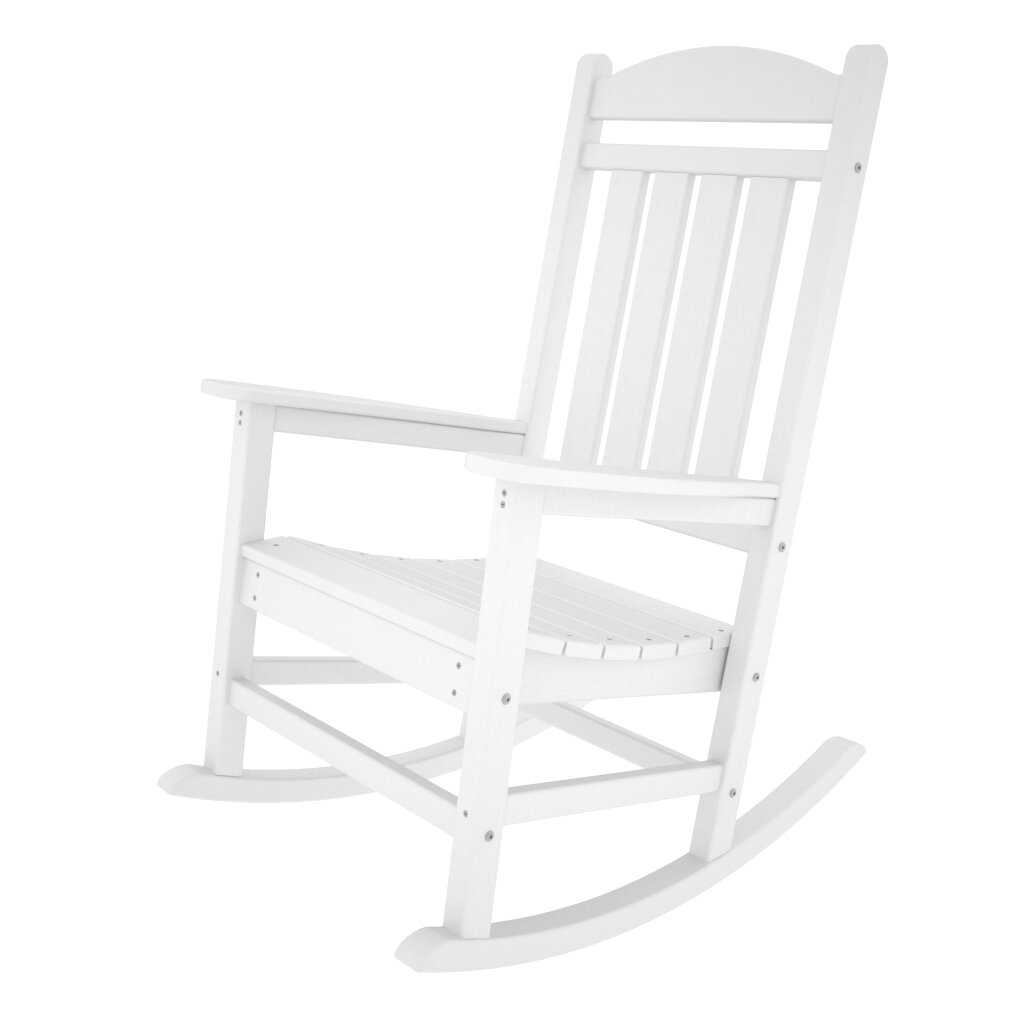 polywood presidential rocking chair reviews wayfair. Black Bedroom Furniture Sets. Home Design Ideas