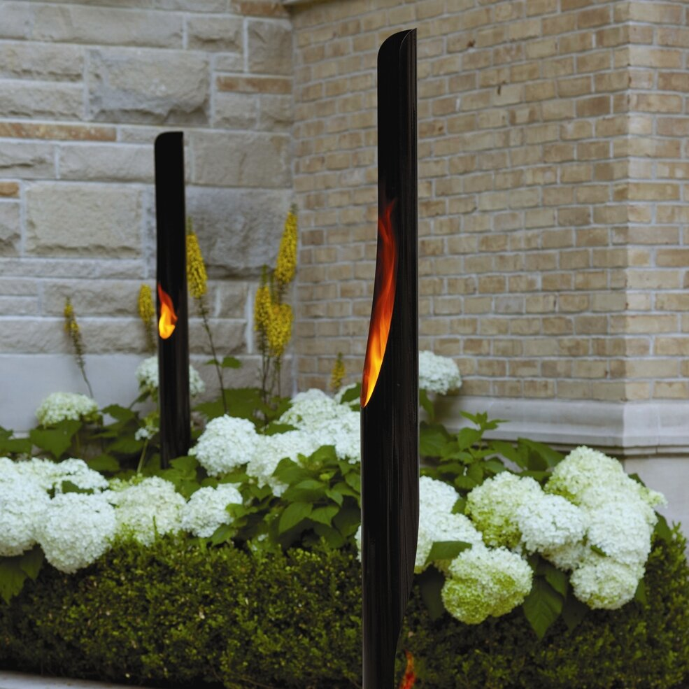 Decorpro Absolute Steel Bio Ethanol Outdoor Fireplace Reviews Wayfair