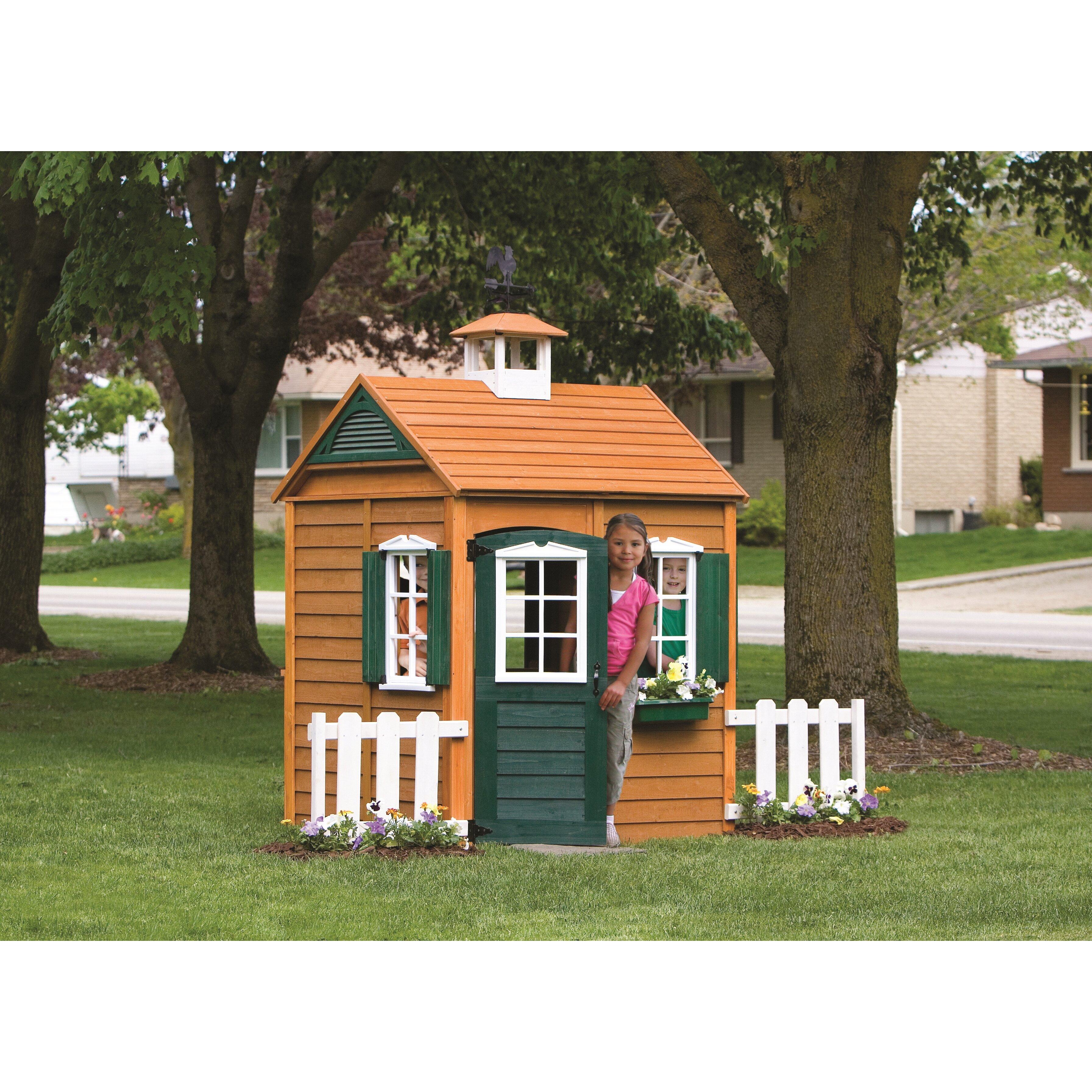 big backyard bayberry playhouse reviews wayfair