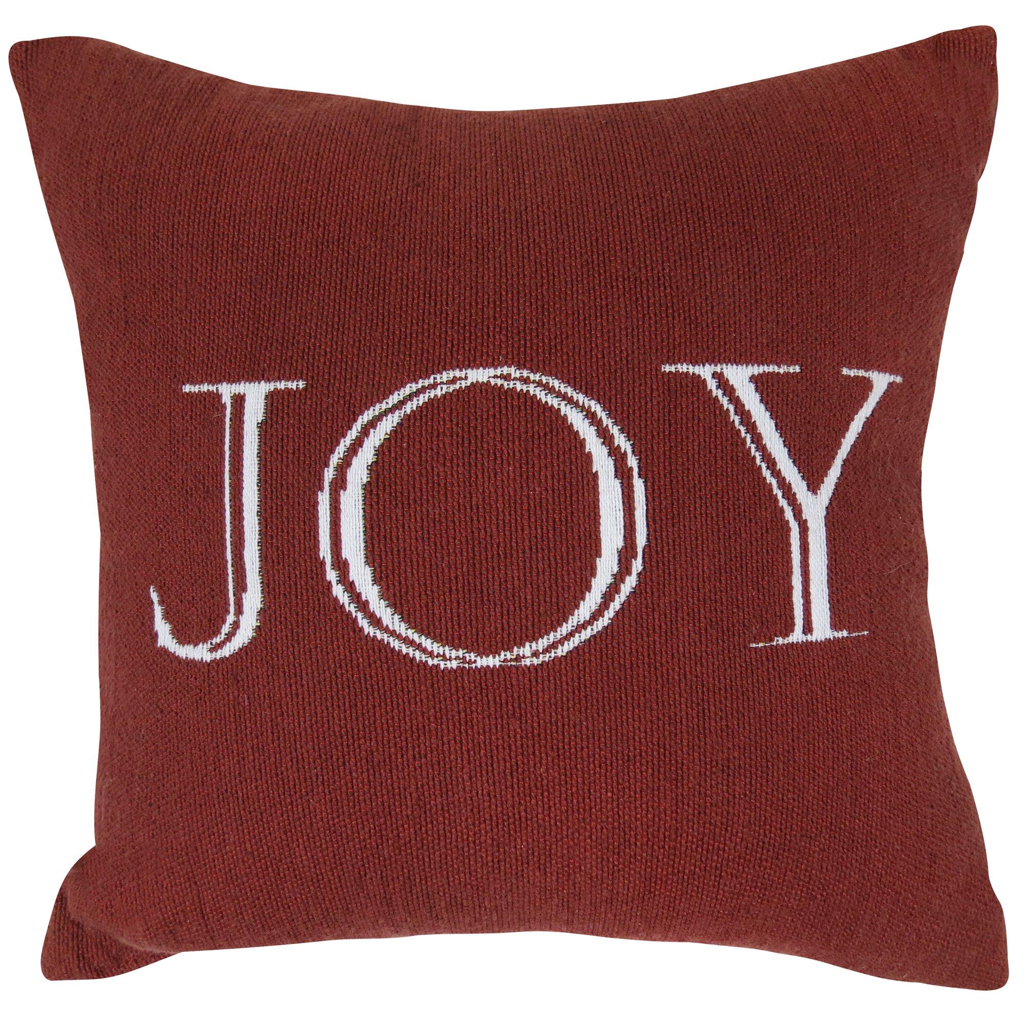 Park B Smith Ltd Vintage House Joy Tapestry Throw Pillow & Reviews Wayfair
