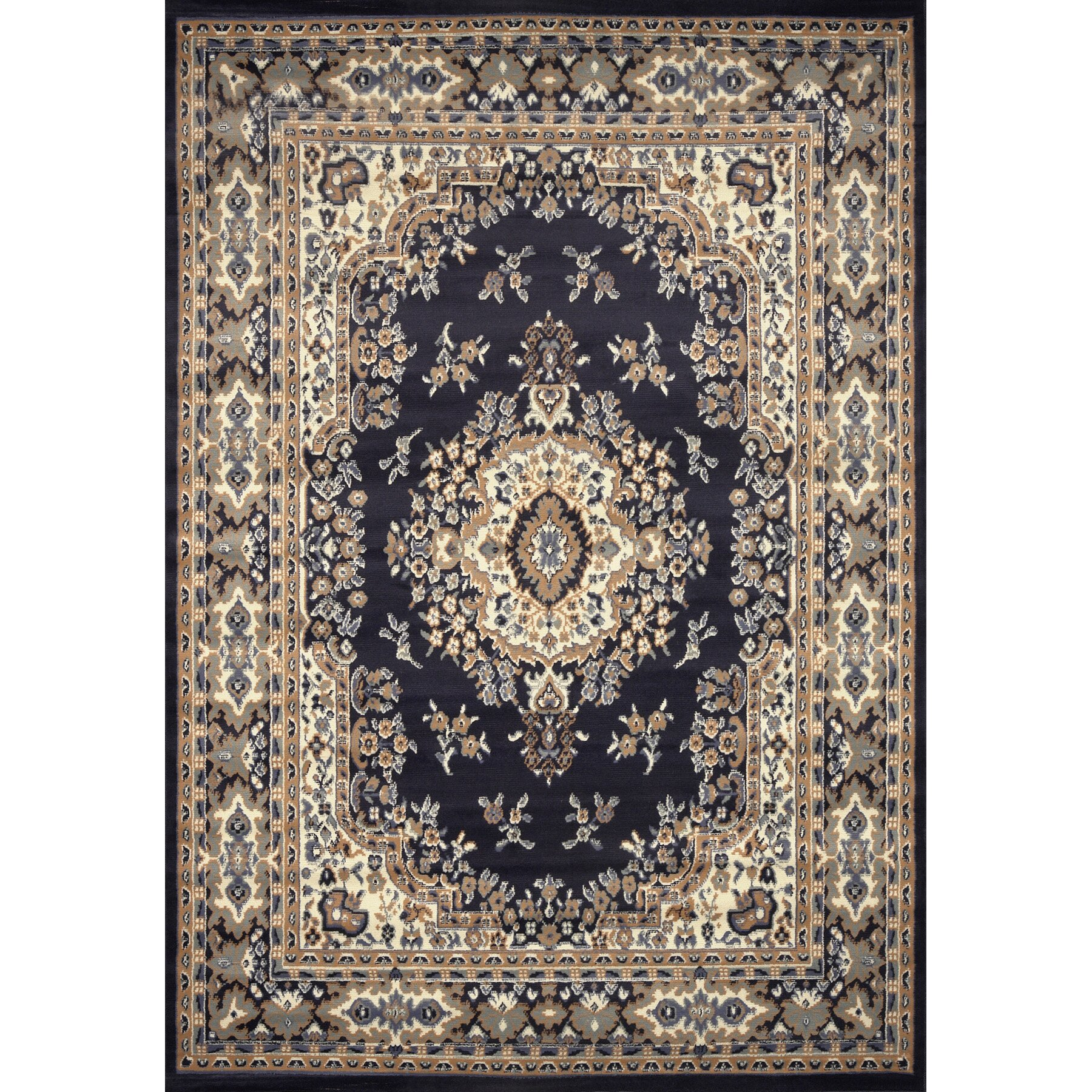 Home Dynamix Premium Blue Area Rug & Reviews