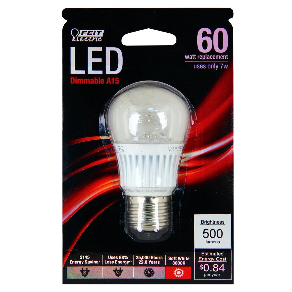feit electric 60w 3000k led light bulb wayfair. Black Bedroom Furniture Sets. Home Design Ideas