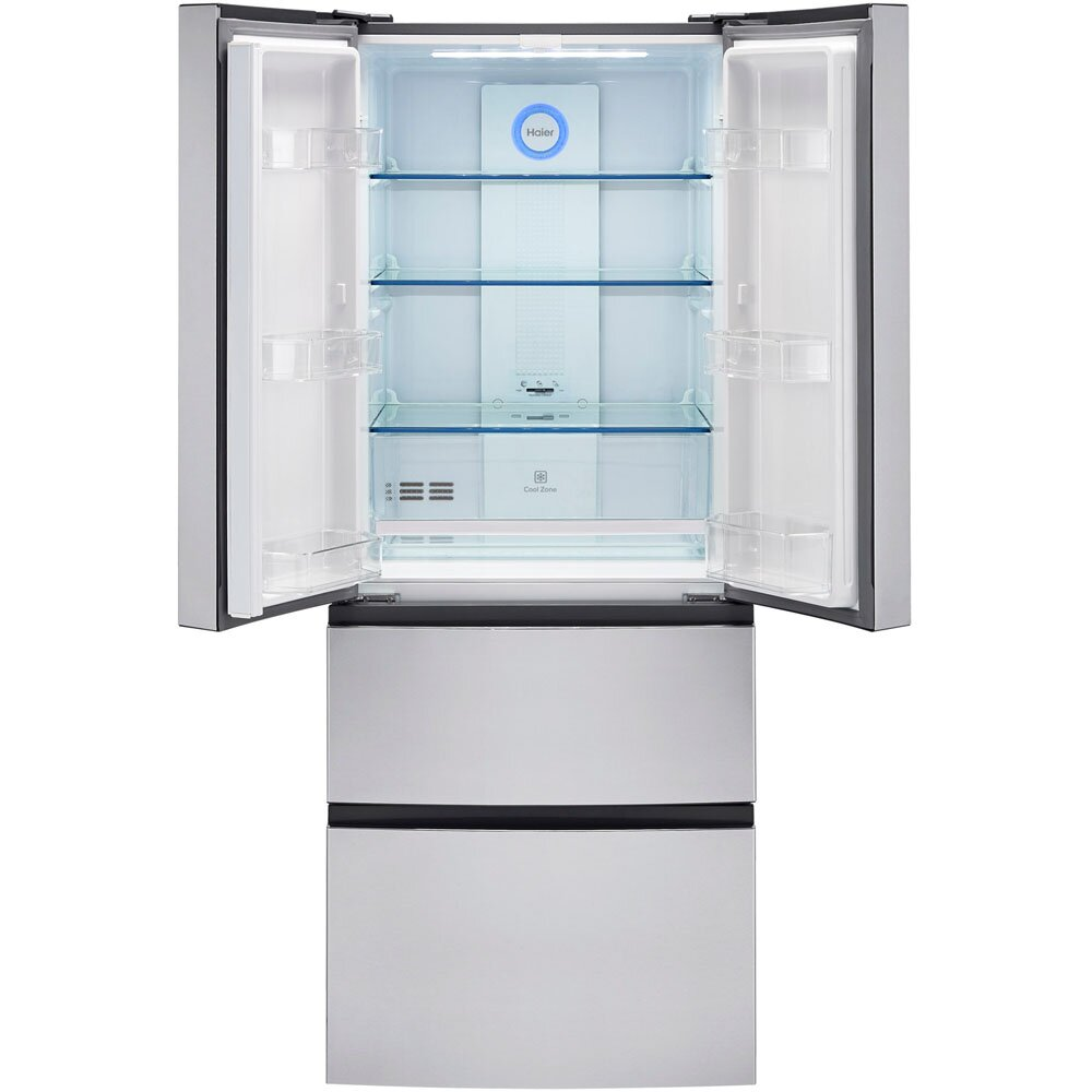 Haier 1497 cu ft French Door Refrigerator amp Reviews  : Haier 1497 cu ft French Door Refrigerator HRF15N3AGS from www.wayfair.com size 1000 x 1000 jpeg 76kB