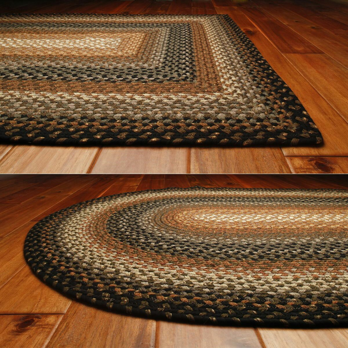 Homespice decor cotton braided cocoa bean area rug reviews wayfair - Rugs and home decor decor ...