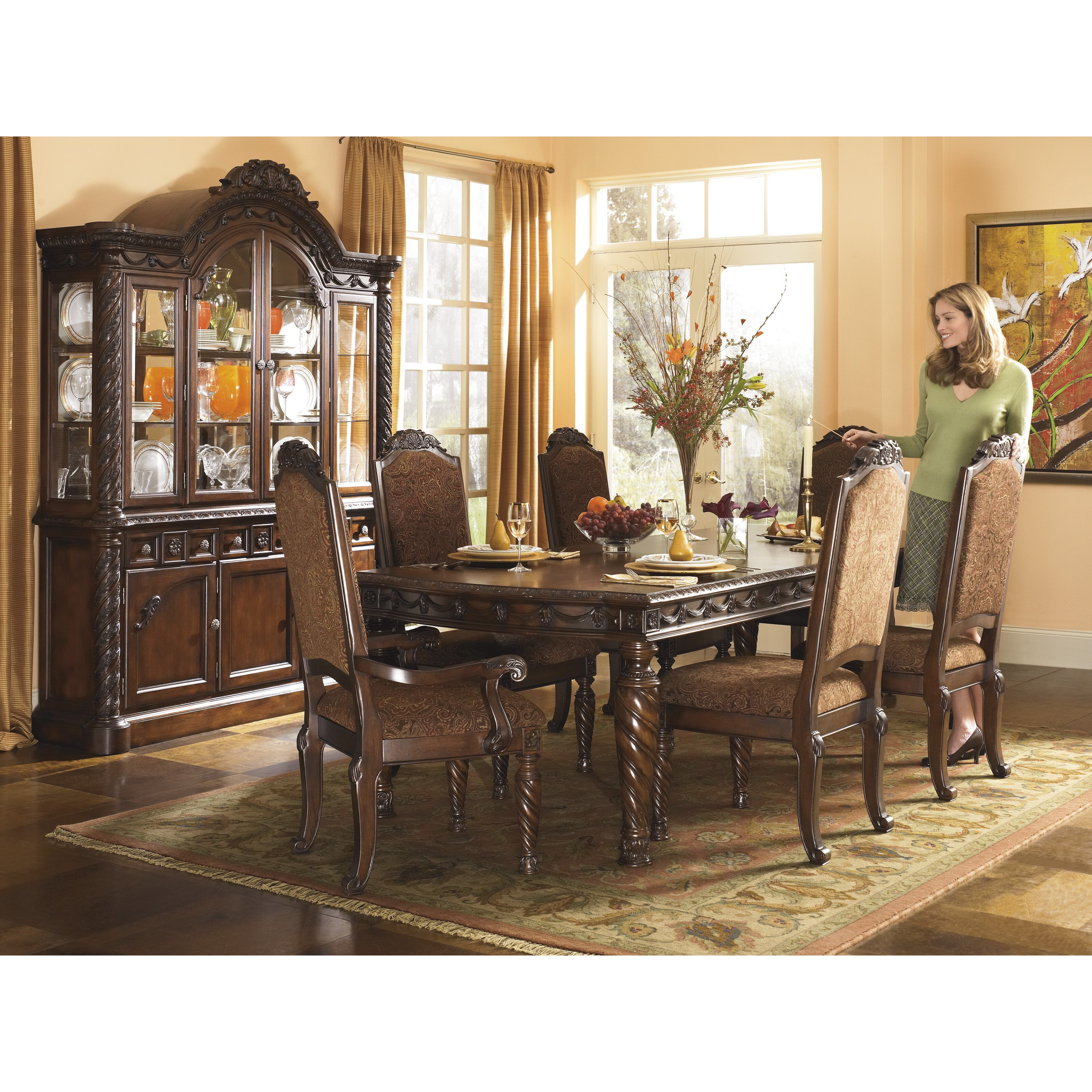 Ashley Furniture Fayetteville: Wildon Home ® China Cabinet & Reviews