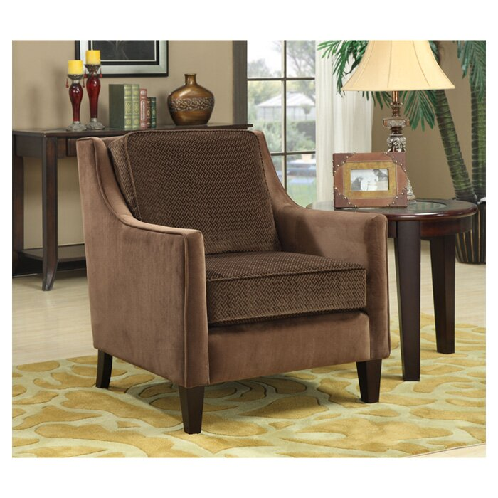 Wildon Home Contrasting Velvet Chair Reviews Wayfair