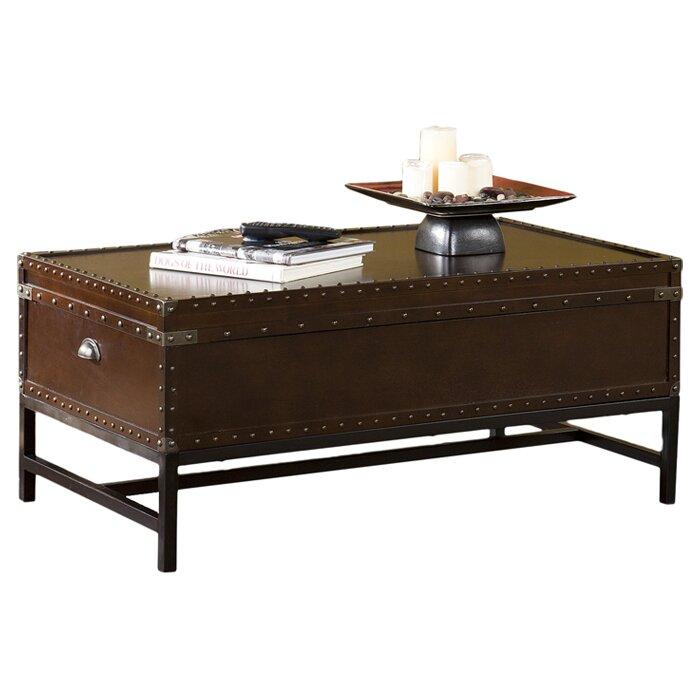 Trent Austin Design Buharkent Trunk Coffee Table Reviews Wayfair