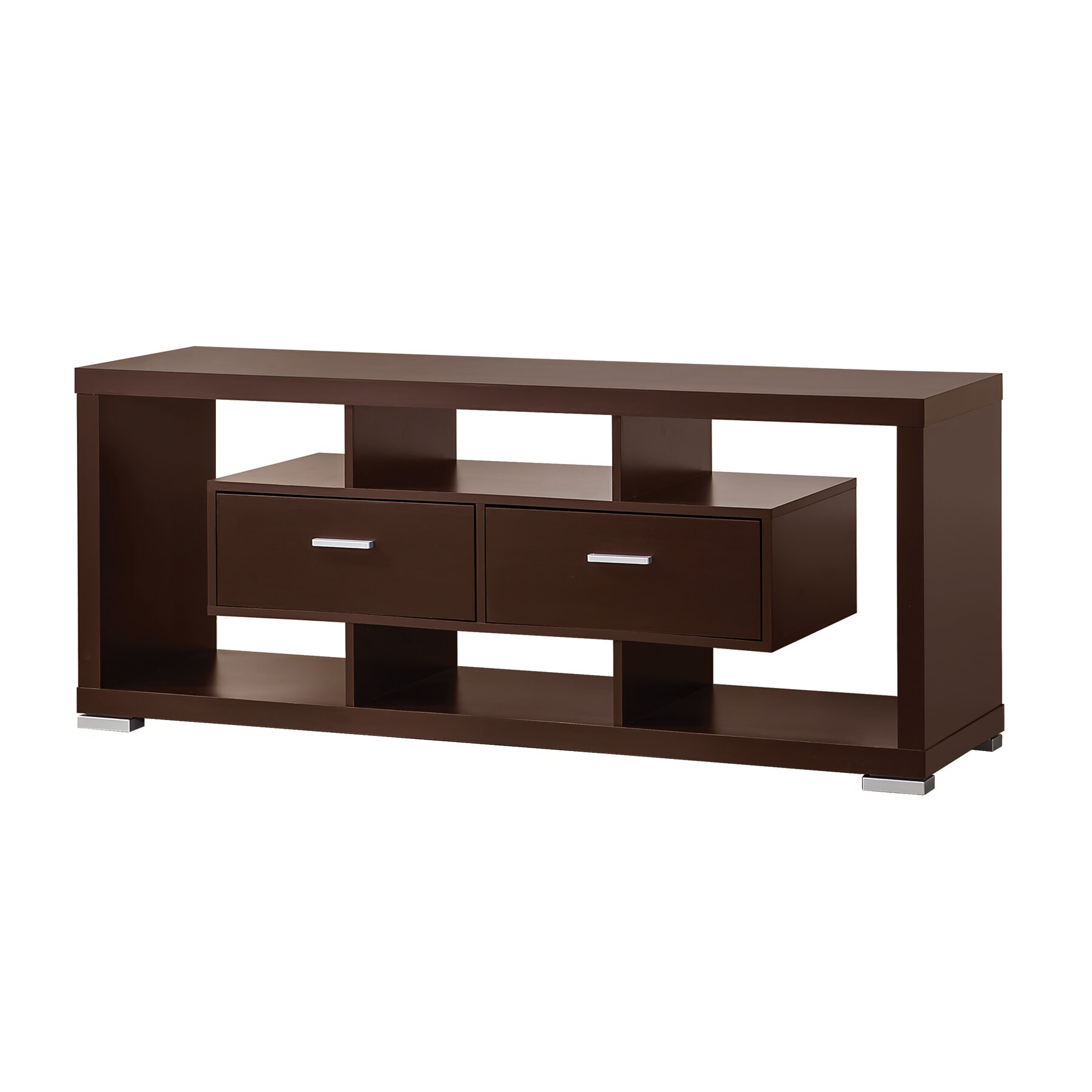 Wildon Home Tv Stand In Cappuccino Reviews Wayfair