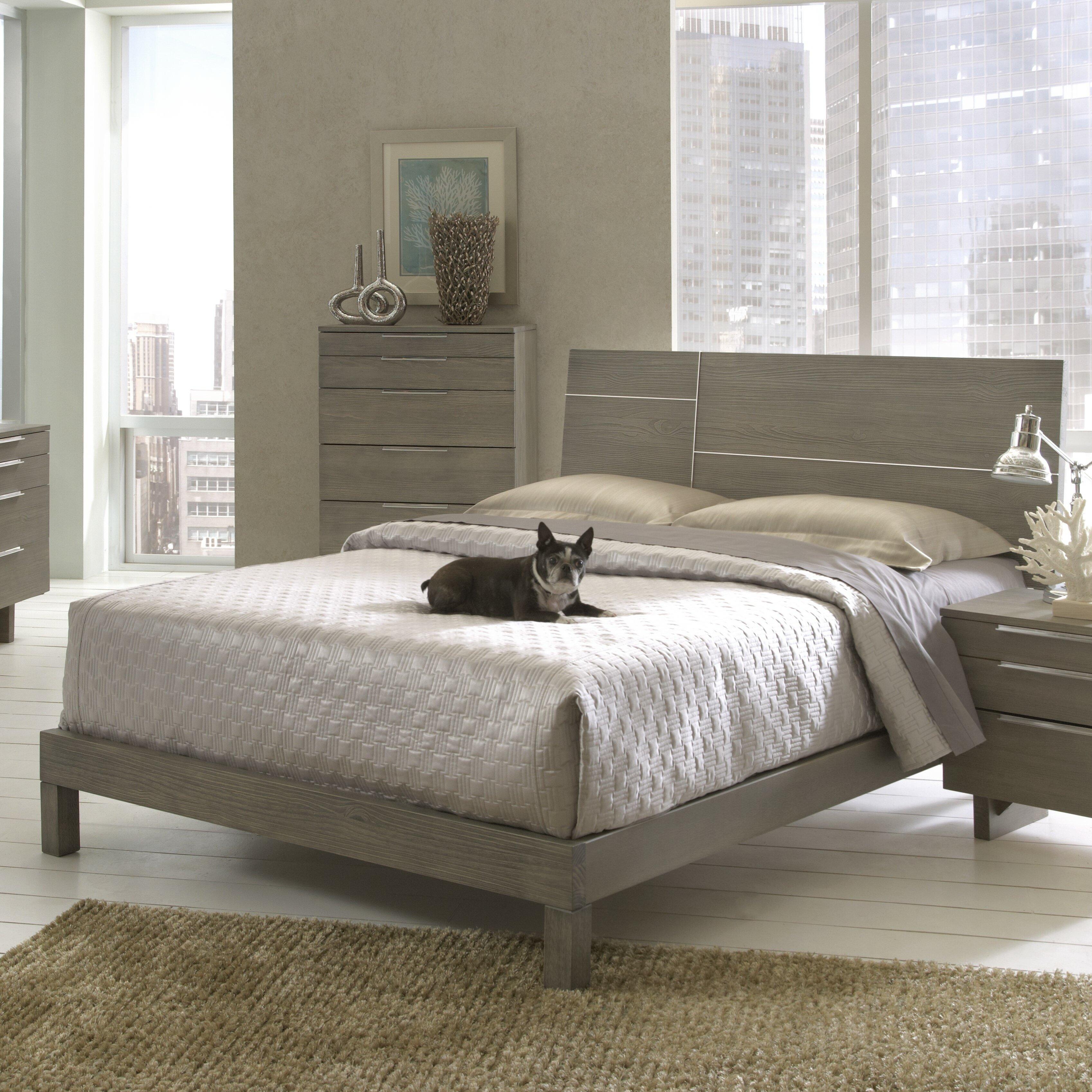 Wildon Home Violet Platform Customizable Bedroom Set Reviews Wayfair