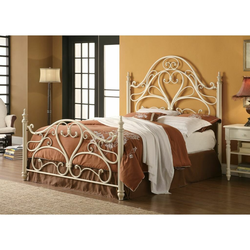 Wildon home arched queen headboard and footboard wayfair for Queen footboard