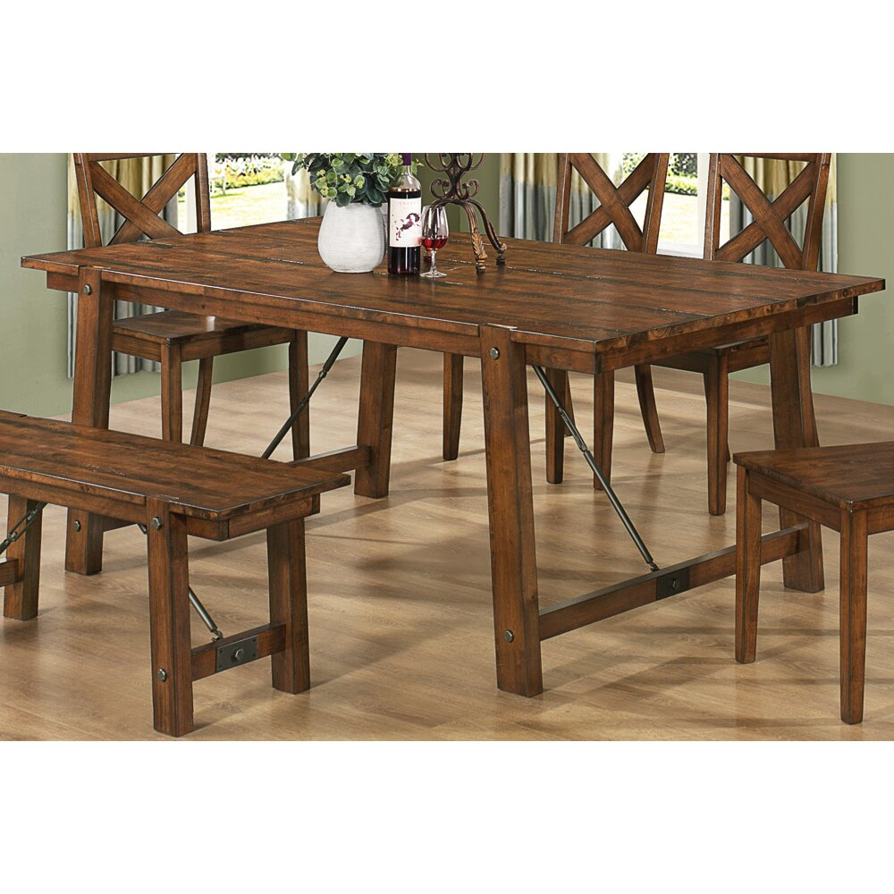 Fine Dining Table: Wildon Home ® Tyler Dining Table & Reviews