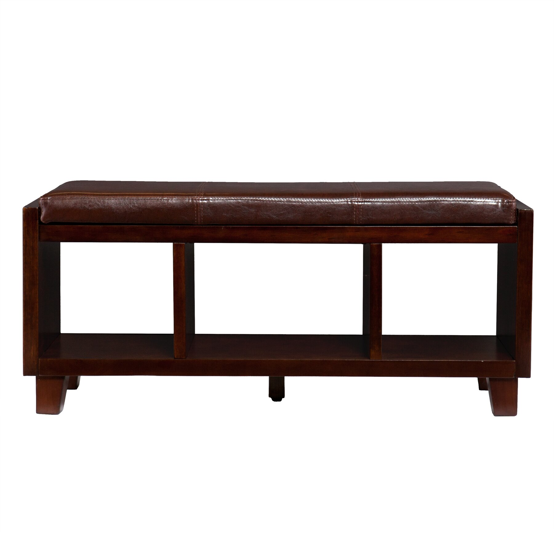 Wildon Home Remmington Wood Storage Bench Reviews Wayfair