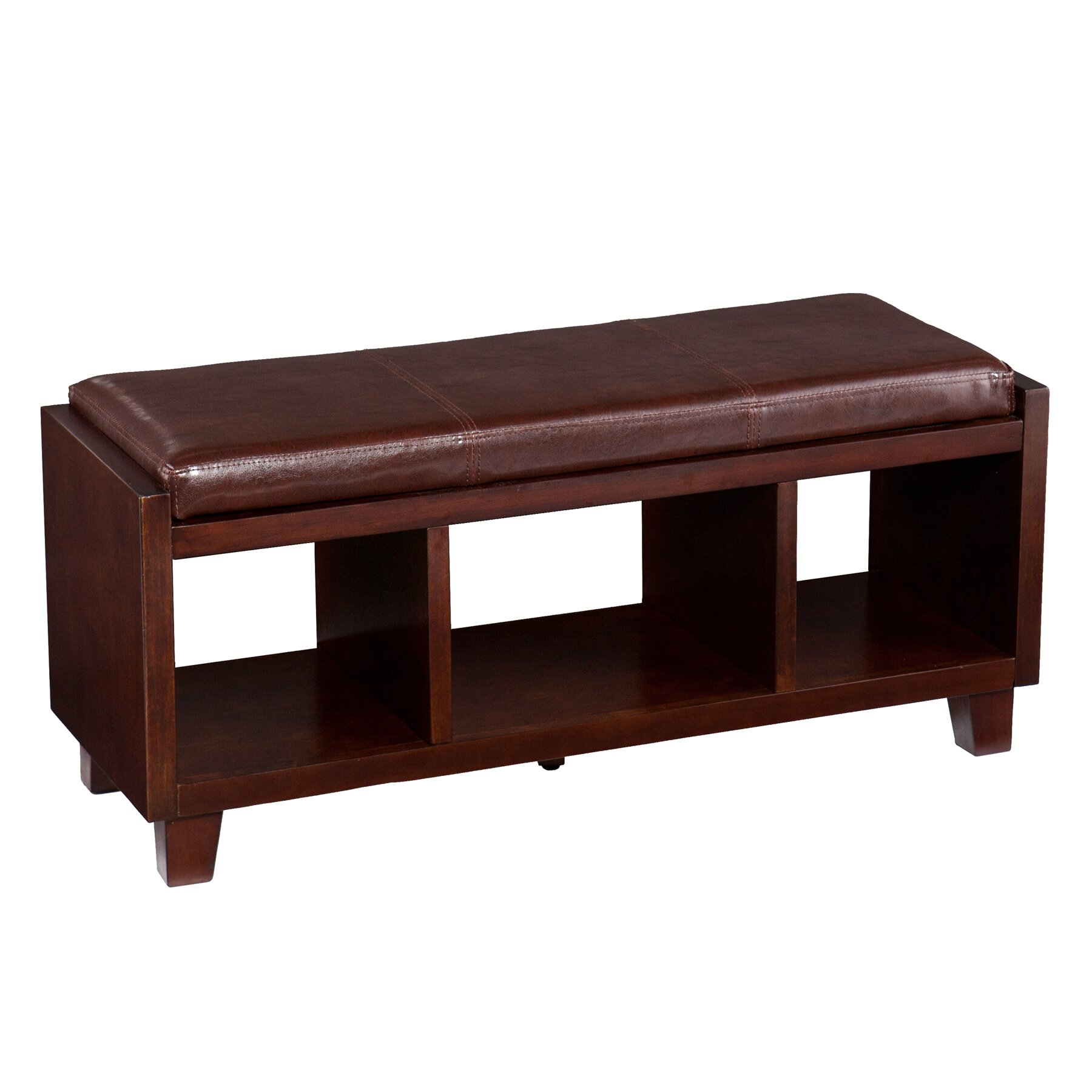 Wildon Home Remmington Wood Storage Bench Reviews
