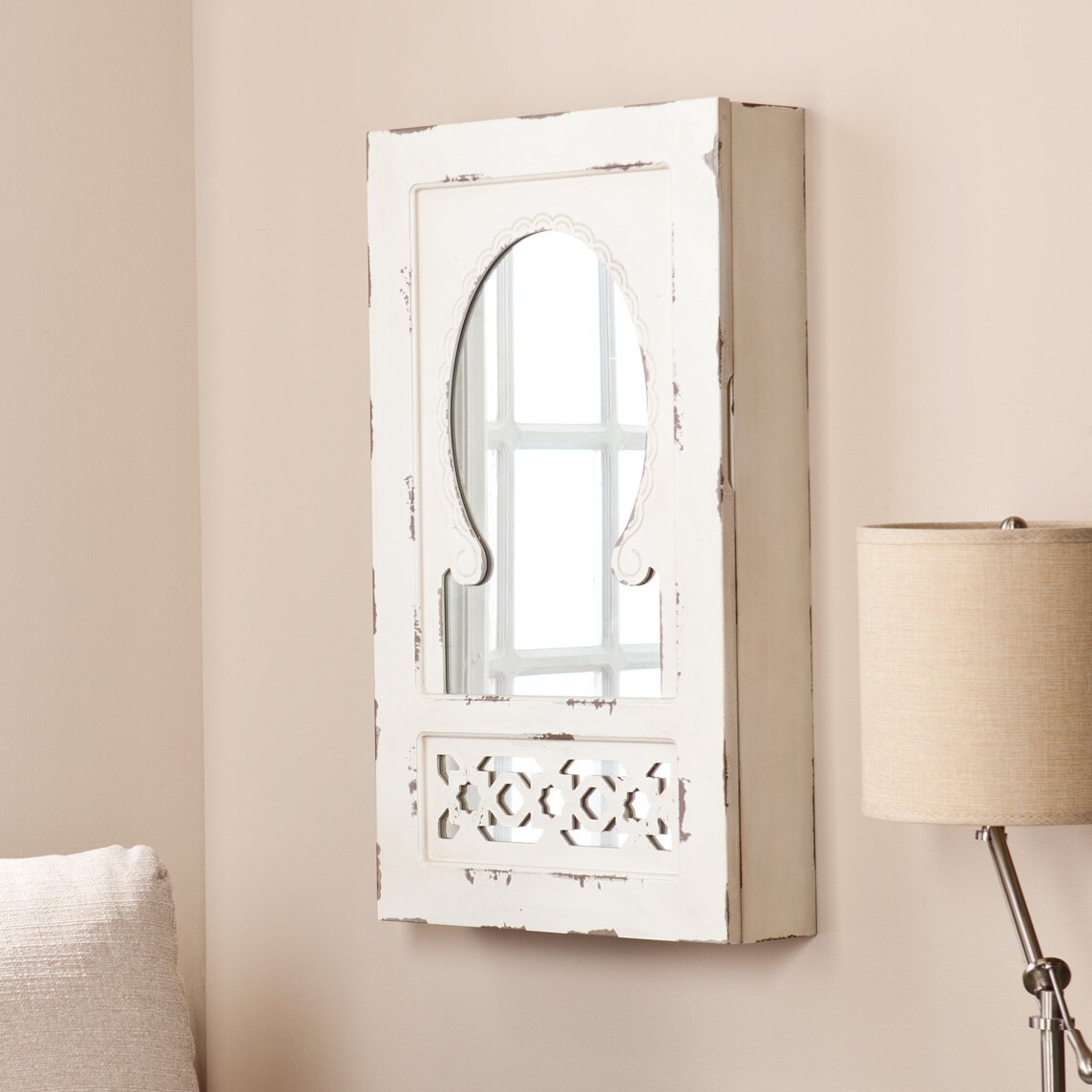Wildon Home ® Davida Shabby Elegance Wall Mounted Jewelry