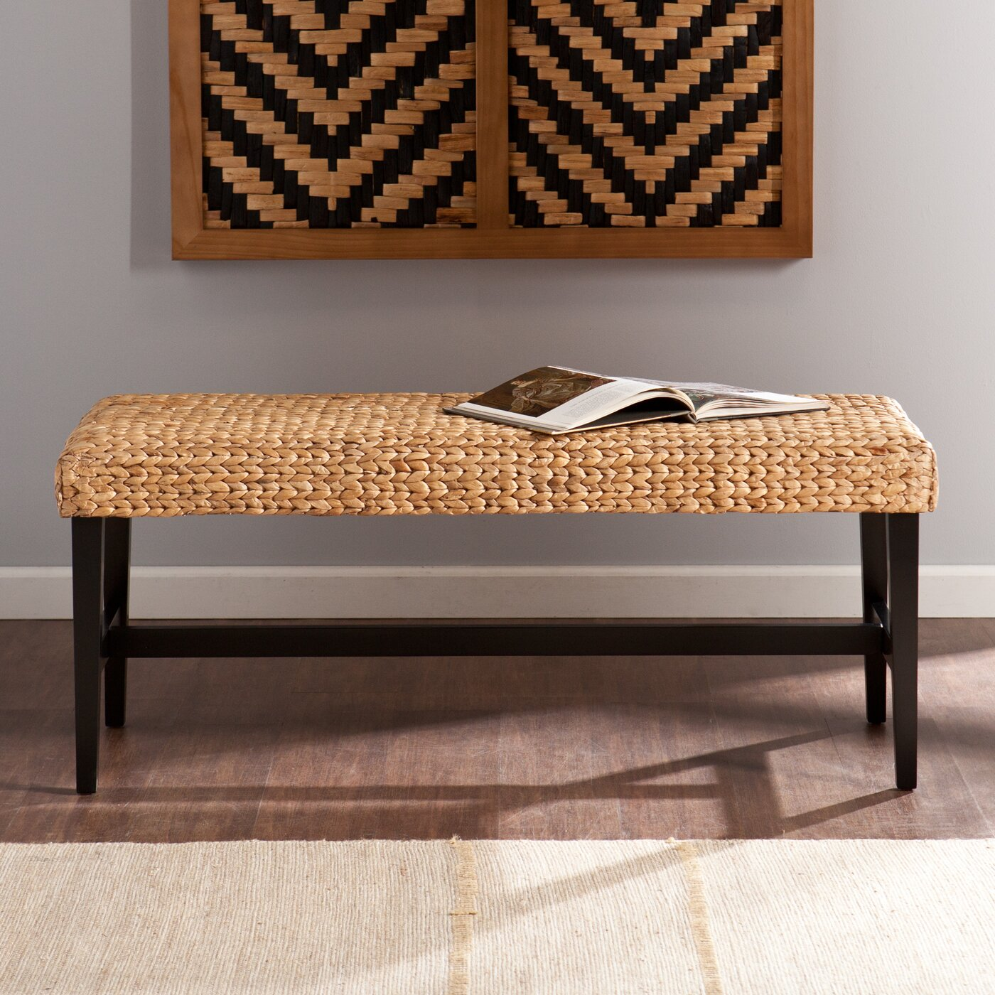 Wildon Home ® Arcadia Wood Entryway Bench & Reviews