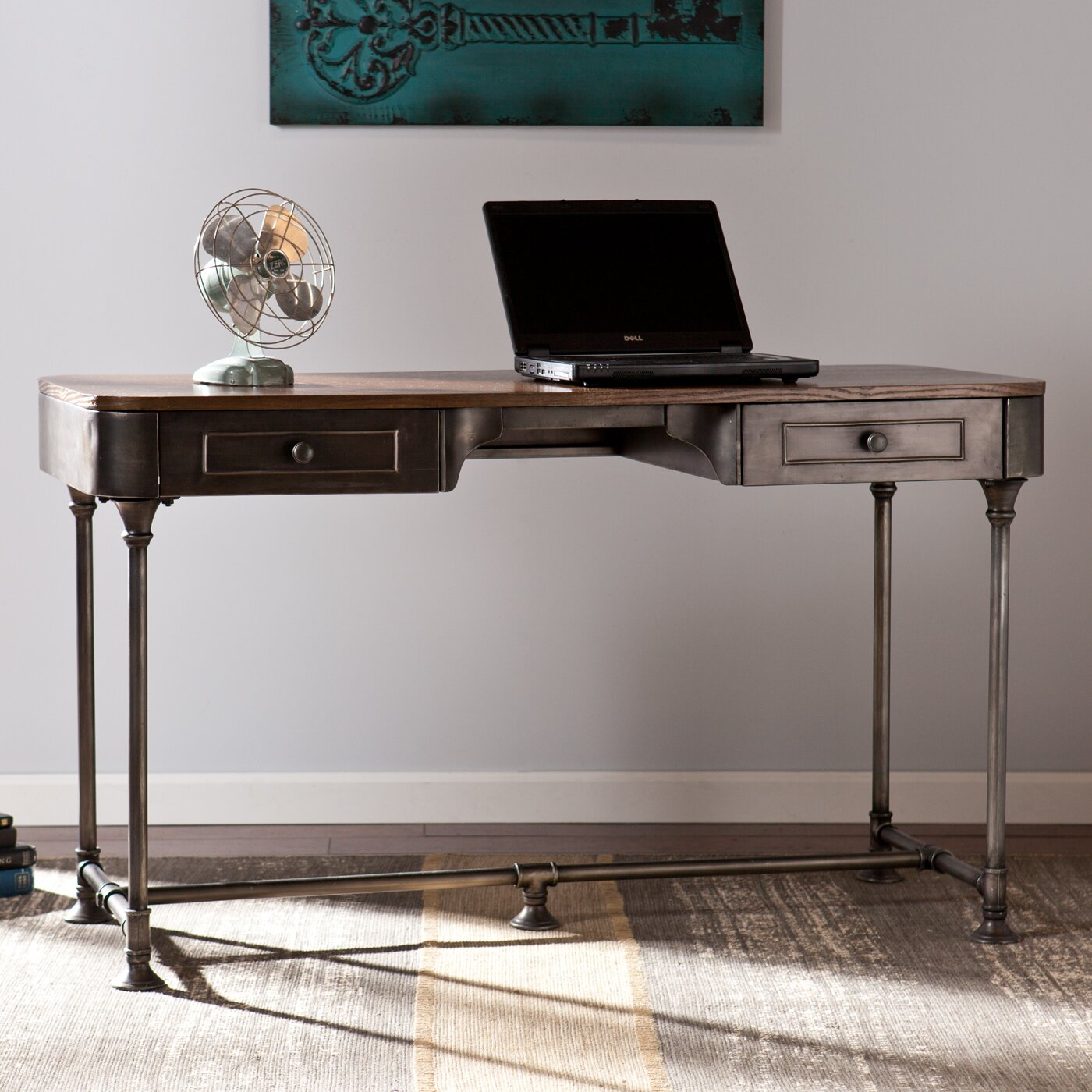 Wildon Home Dorado Writing Desk Reviews Wayfair