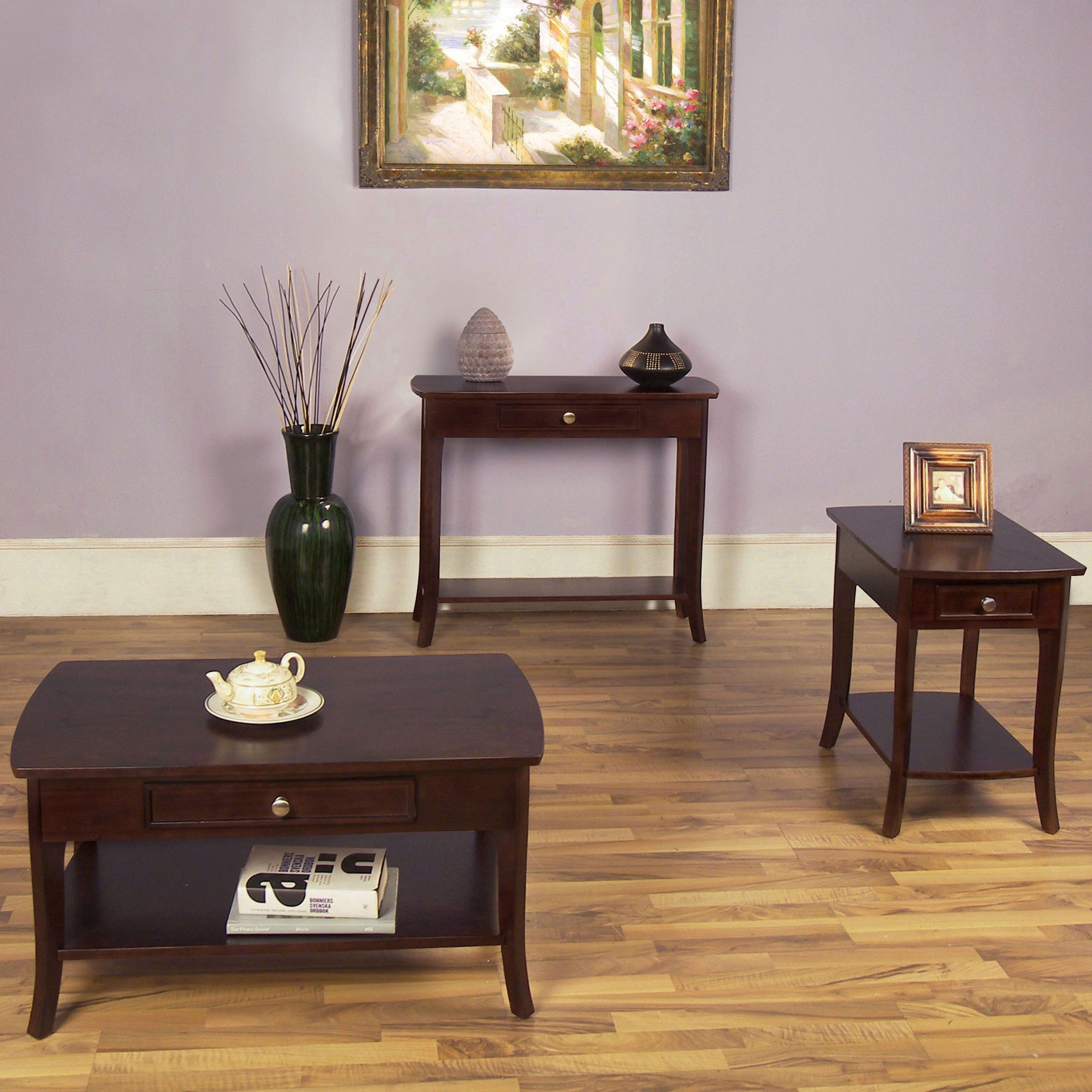 Wildon Home Coffee Table Set Reviews