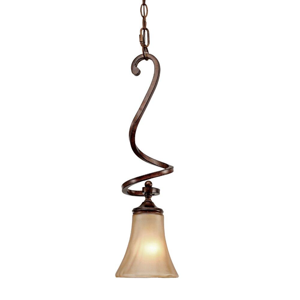 Christmas Tree Shop Binghamton Ny: Wildon Home ® Binghamton 1 Light Mini Pendant & Reviews