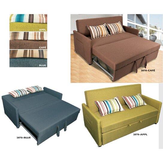 wildon home pull out sleeper sofa reviews wayfair. Black Bedroom Furniture Sets. Home Design Ideas