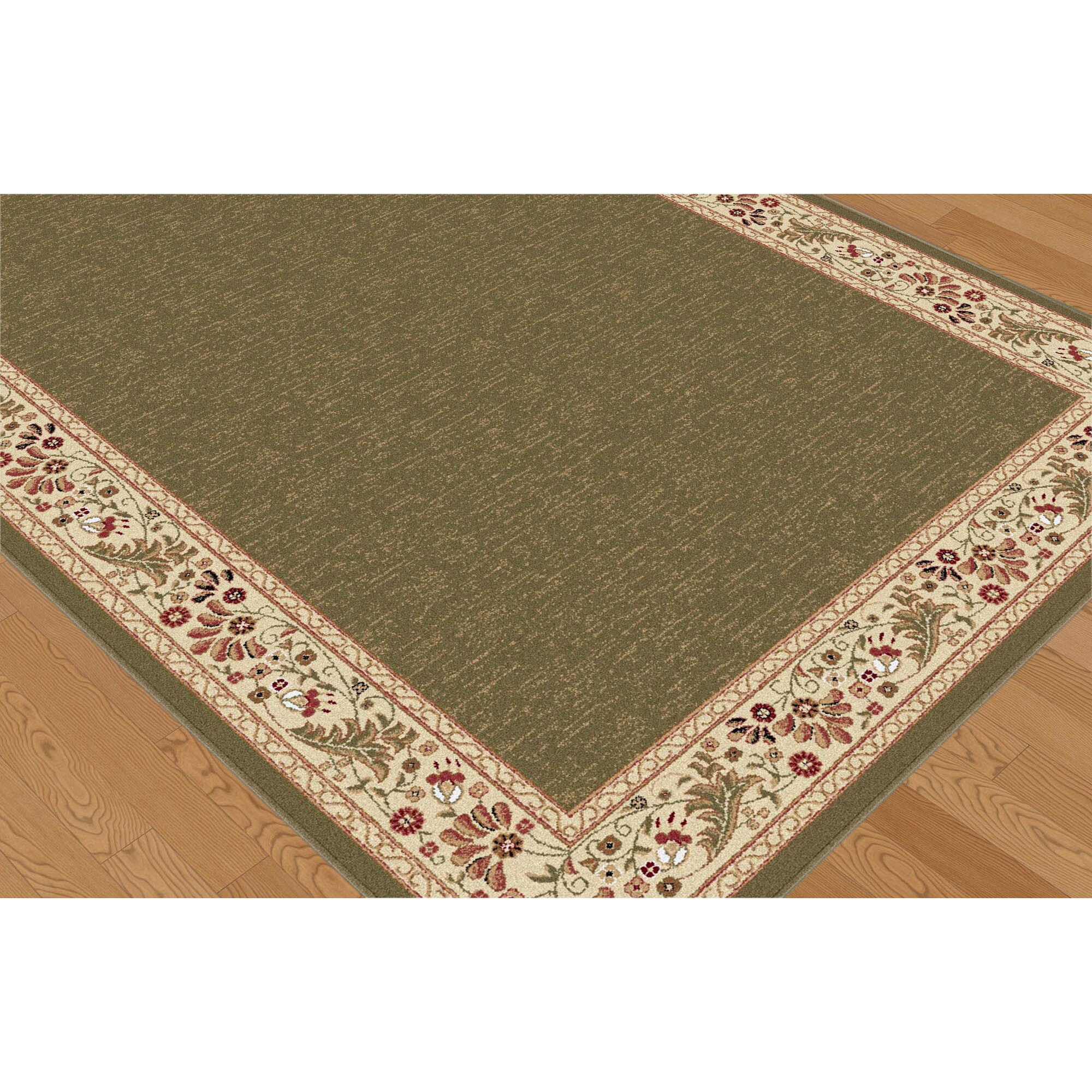 Threadbind Richmond Green Area Rug & Reviews
