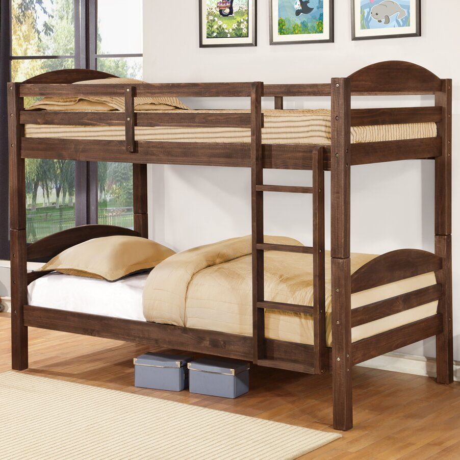 Wildon Home Alissa Twin Over Full Bunk Bed Reviews