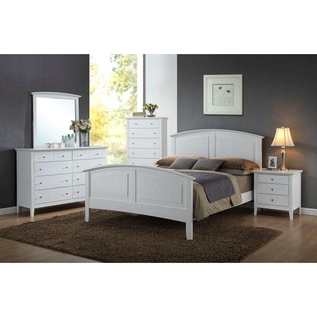 Wildon Home ® Whiskey Panel Customizable Bedroom Set