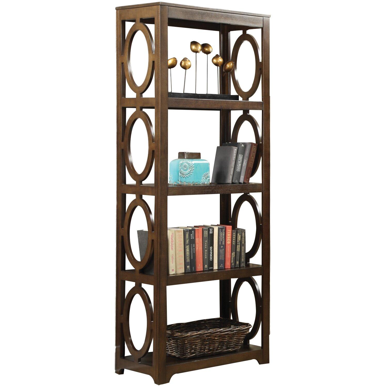 Wildon Home 80 Etagere Bookcase Reviews Wayfair