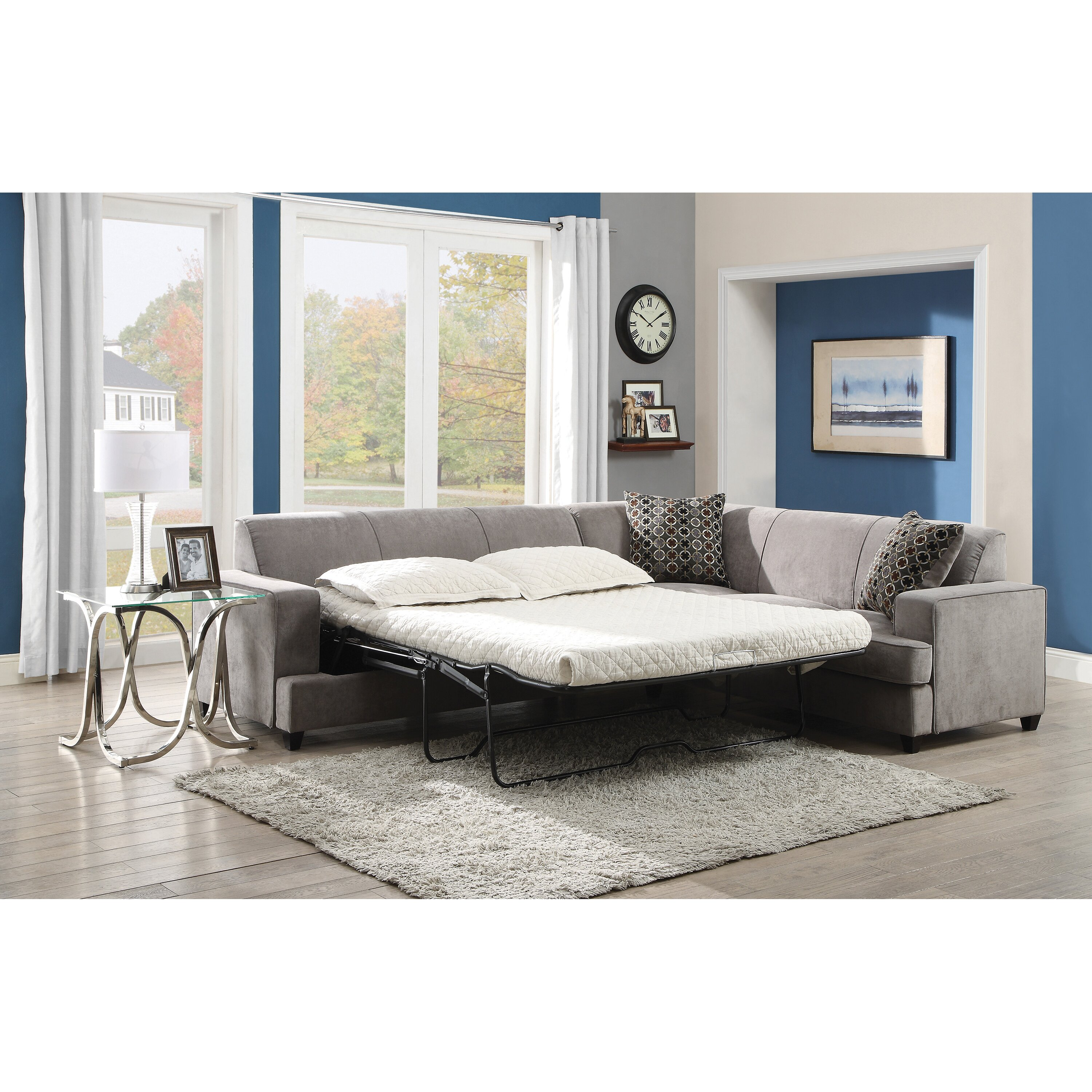 Wildon Home Sleeper Sectional Reviews Wayfair