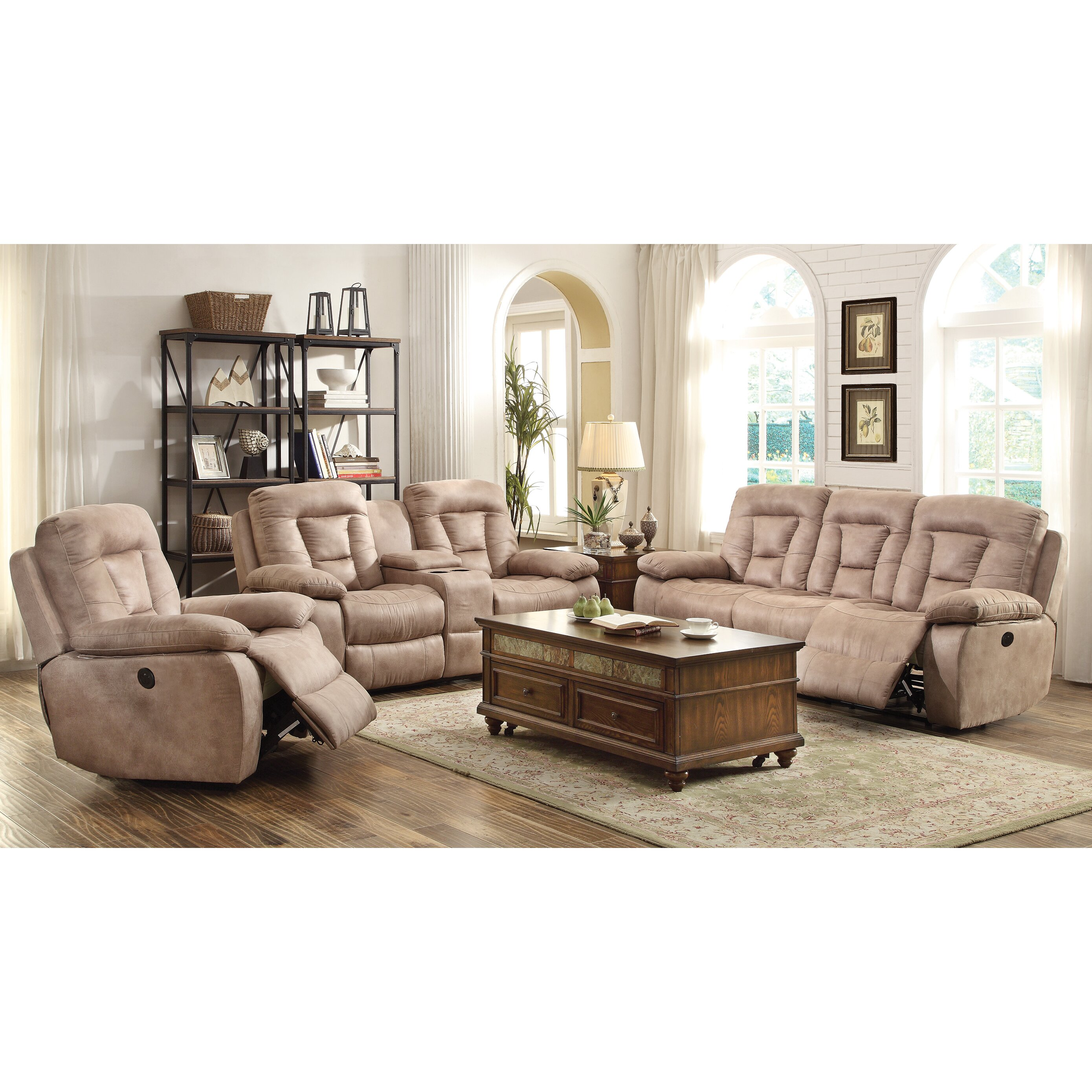 Wildon Home Glider Recliner Reviews Wayfair