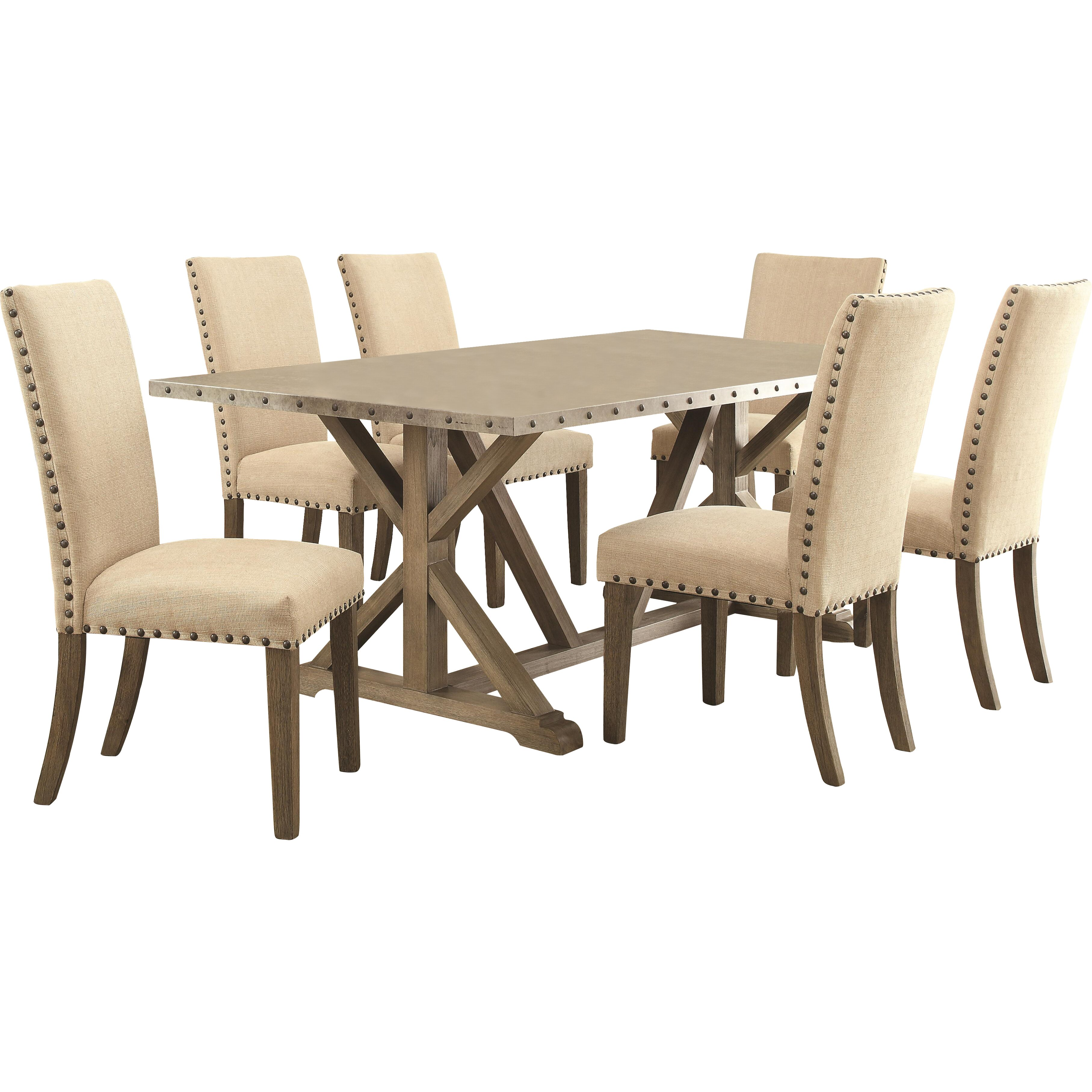 Wildon home pearse dining table reviews wayfair for Wildon home dining
