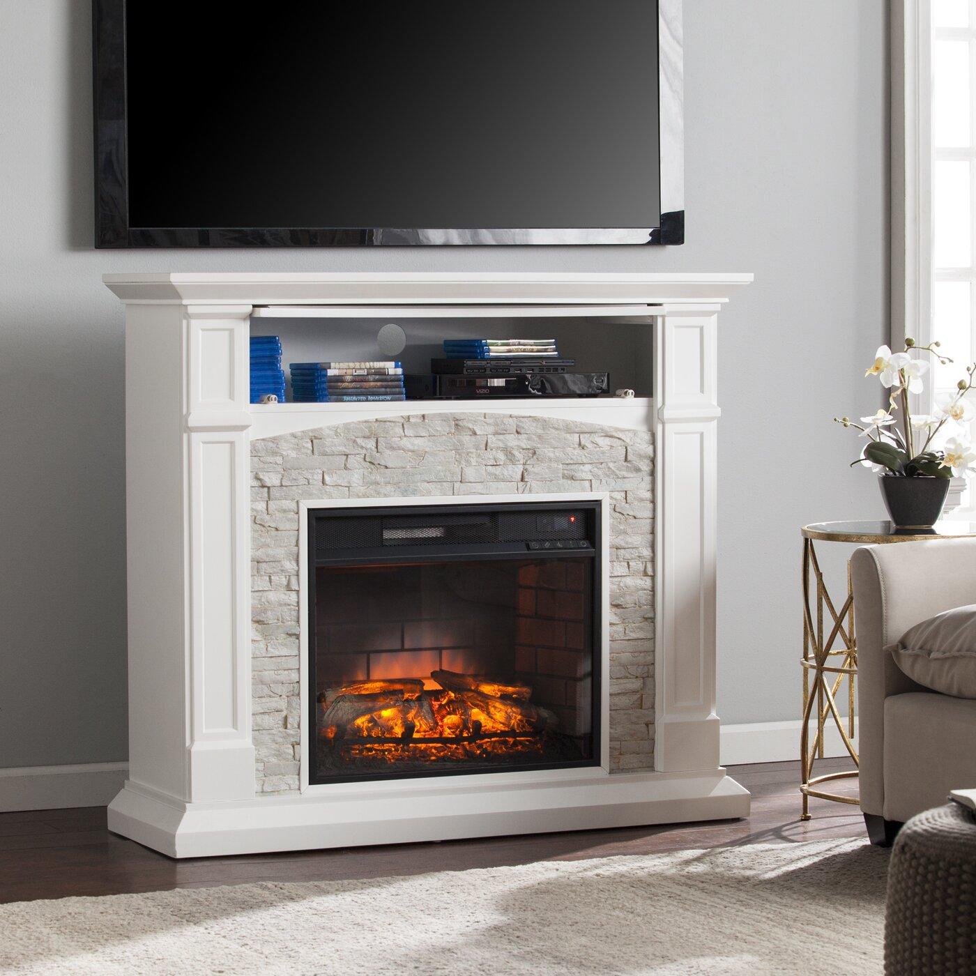 wildon home 174 sheldon infrared media electric fireplace