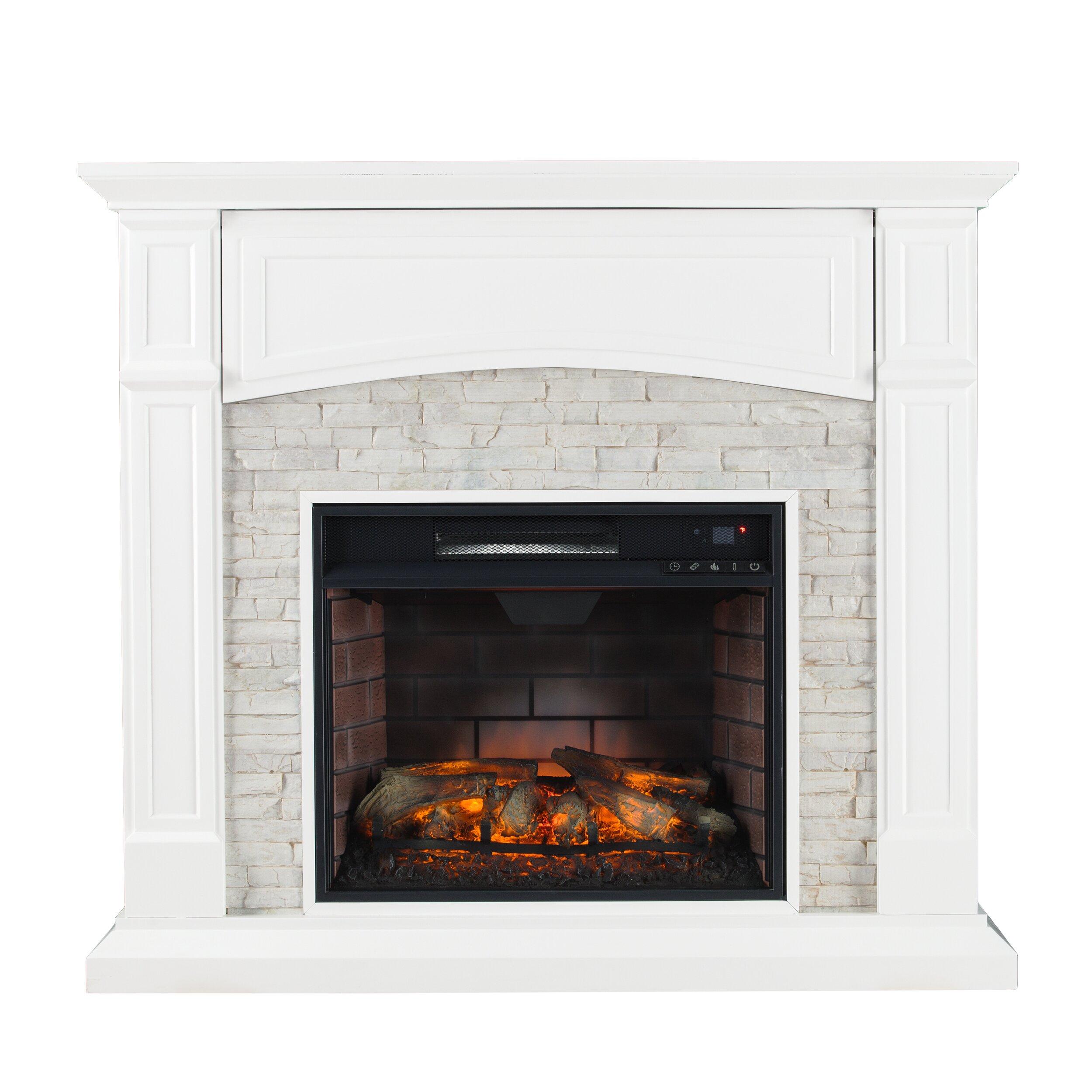 Wildon Home Sheldon Infrared Media Electric Fireplace Reviews Wayfair
