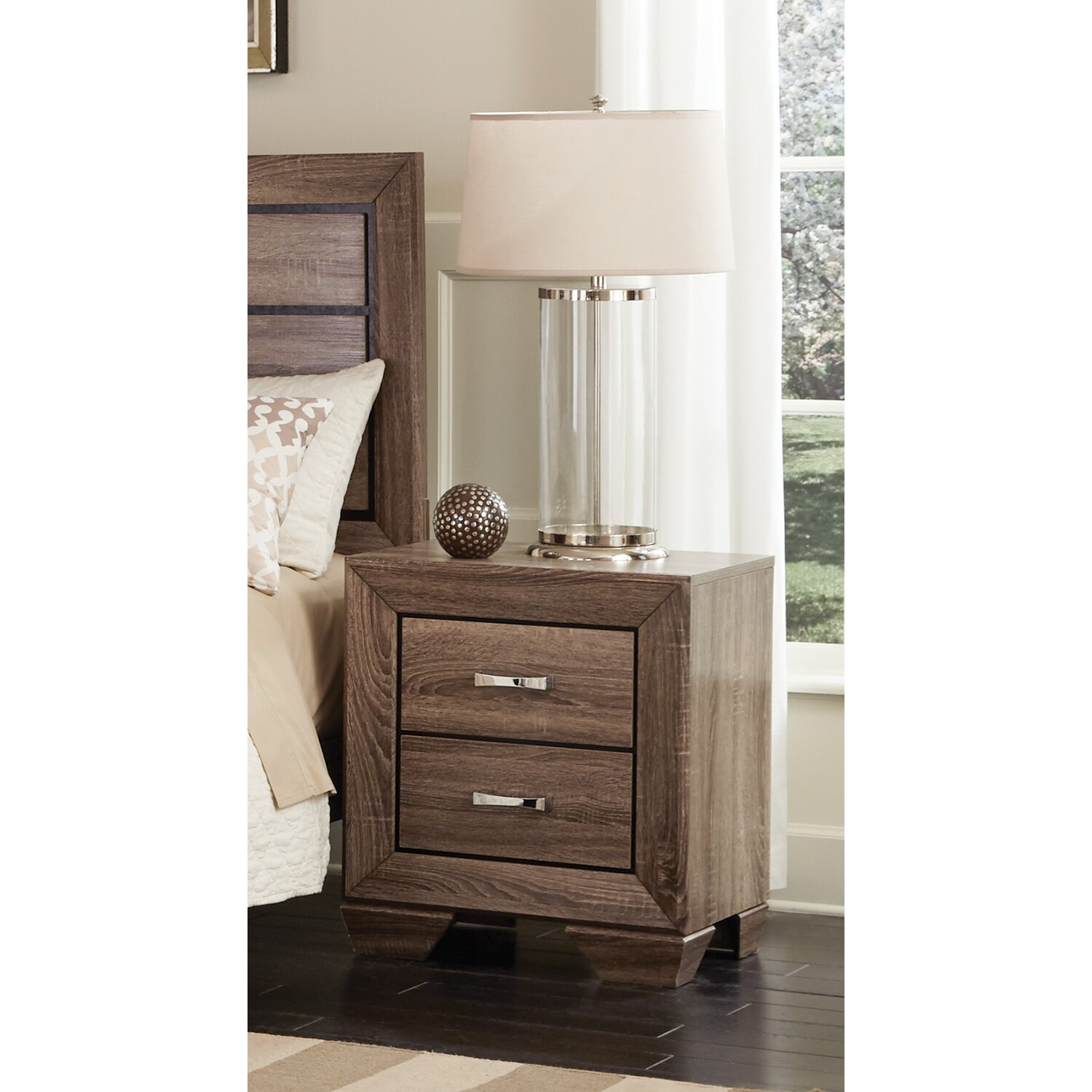 Wildon Home Kauffman Panel Customizable Bedroom Set Reviews
