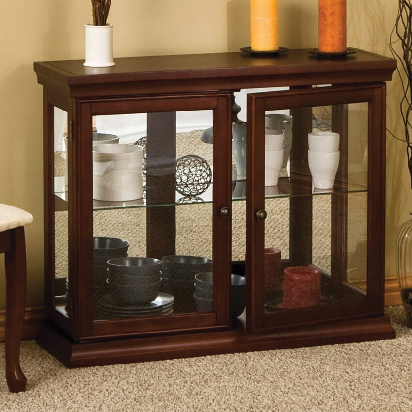Wildon Home 174 Console Curio Cabinet Amp Reviews Wayfair