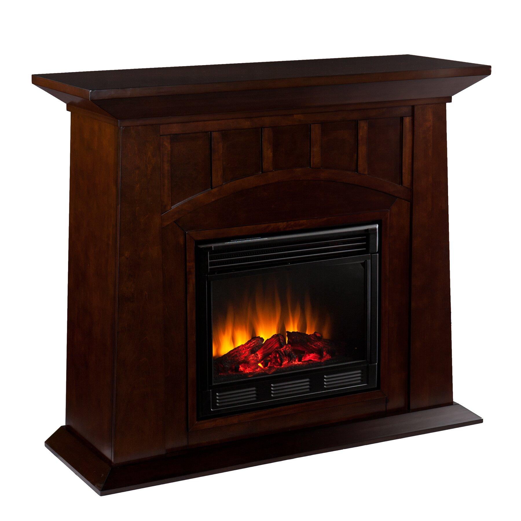 Wildon Home Manchester Electric Fireplace Reviews Wayfair
