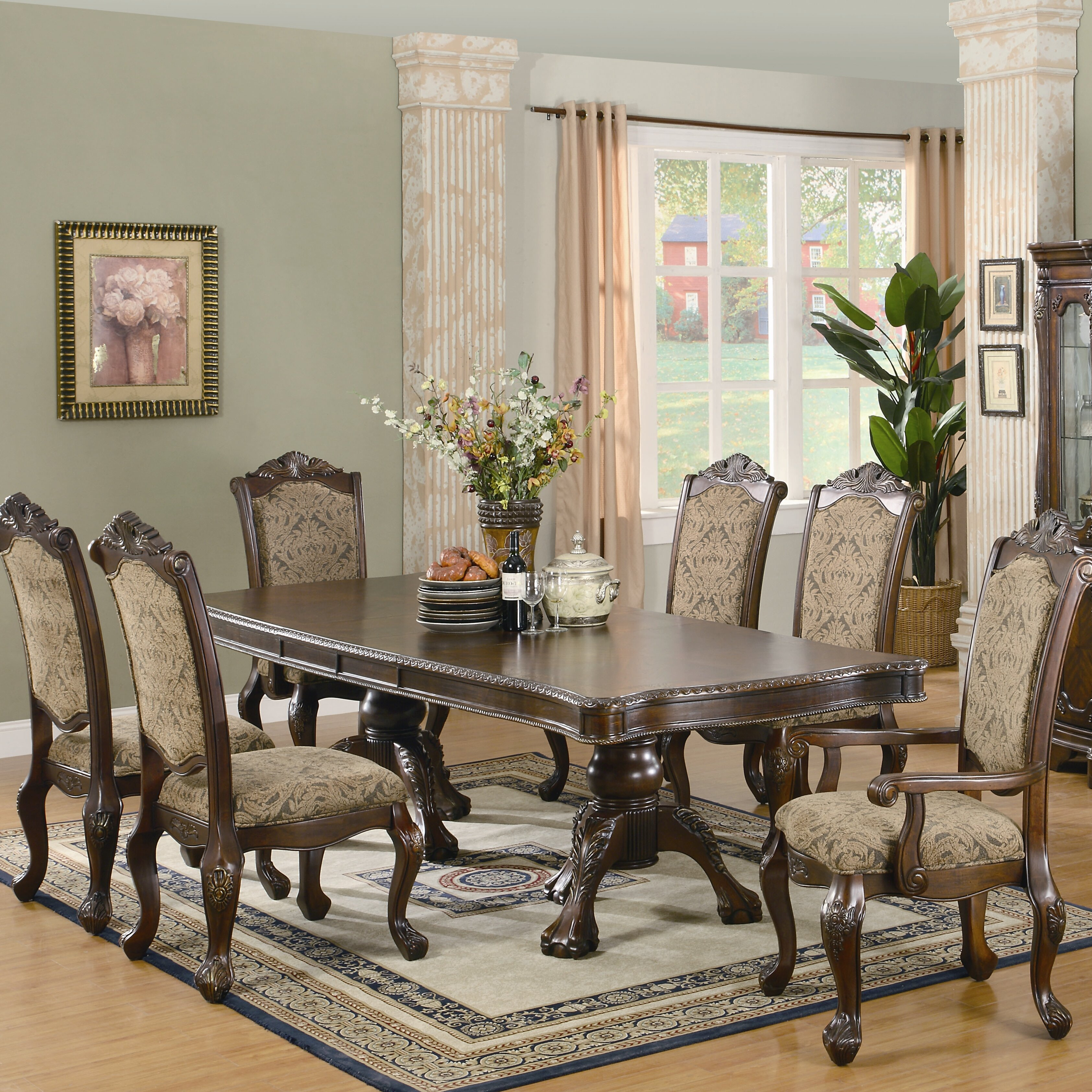 Wildon home italy dining table for Wildon home dining