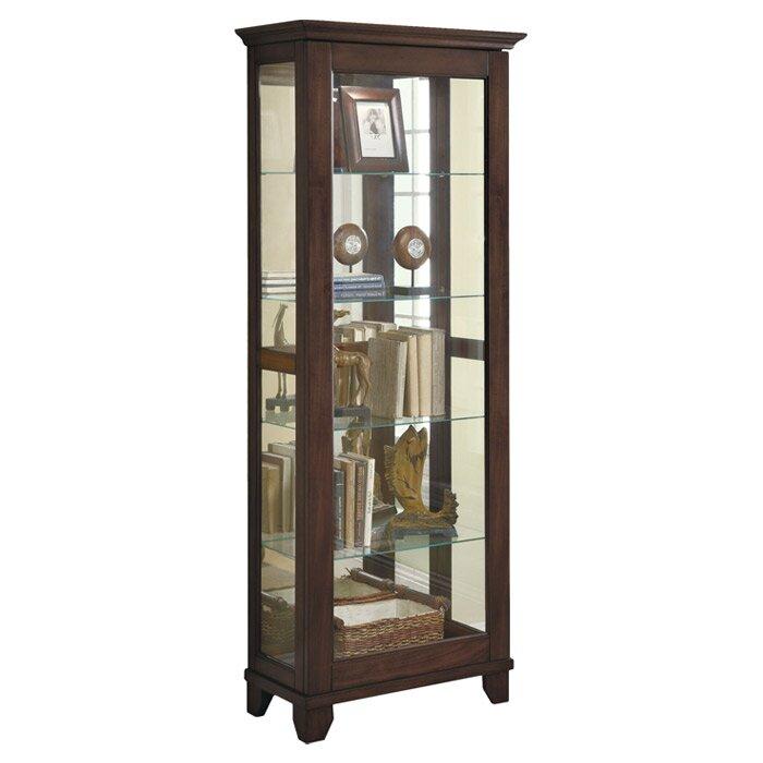 Wildon Home 174 Curio Cabinet Amp Reviews Wayfair