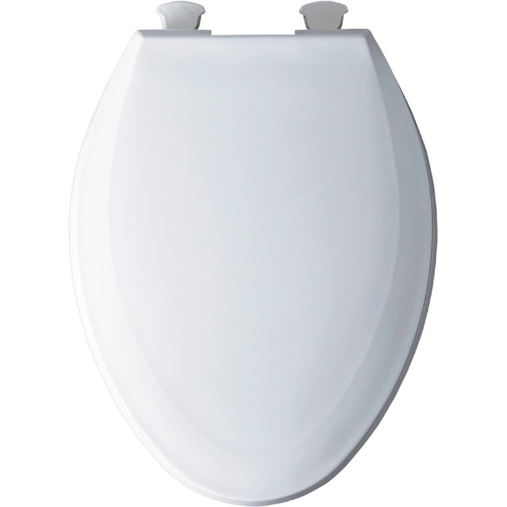 Bemis Solid Plastic Elongated Toilet Seat Reviews Wayfair