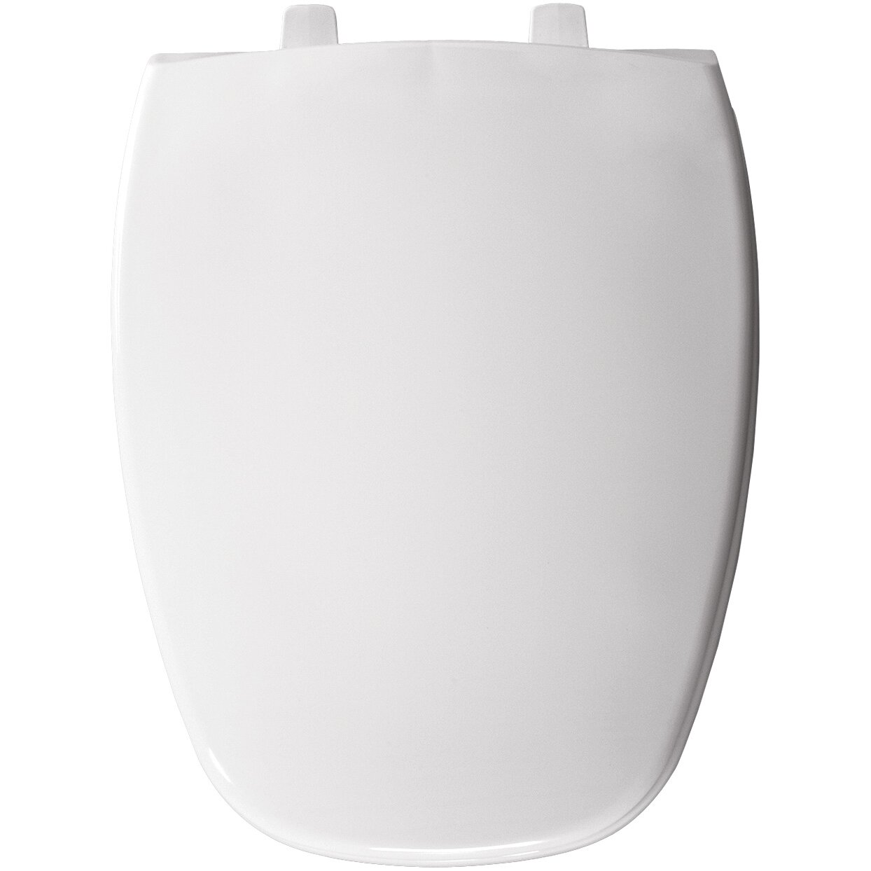 Bemis Eljer Molded Emblem Solid Plastic Elongated Toilet Seat Reviews