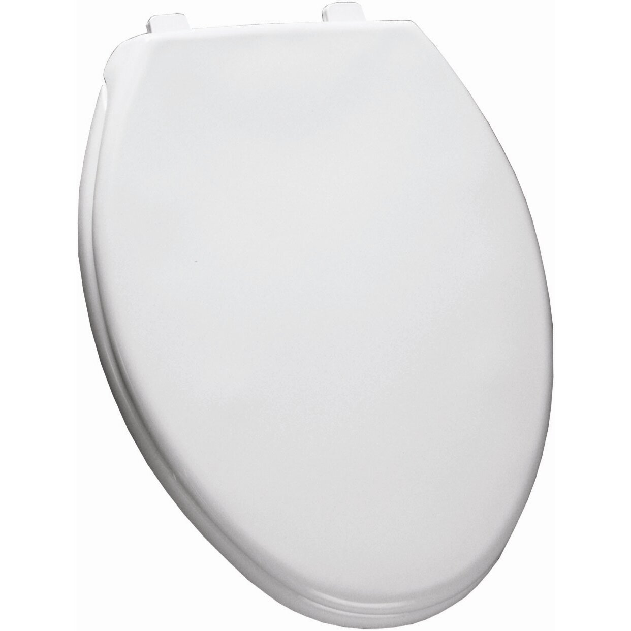 Bemis Residential Solid Plastic Elongated Toilet Seat Reviews Wayfair