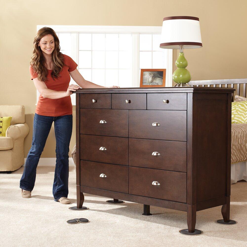 Waxmanconsumergroup Super 16 Pieces Reusable Furniture Moving Kit Sliders Set Wayfair Supply