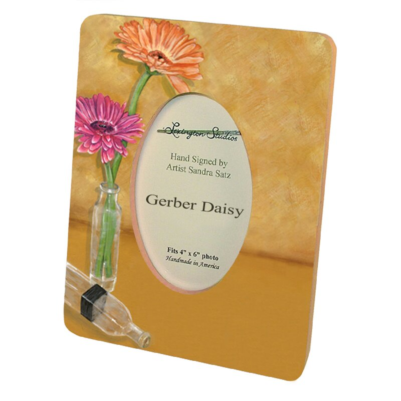 Home And Garden Picture Frames : Lexington studios home and garden gerbera daisy picture