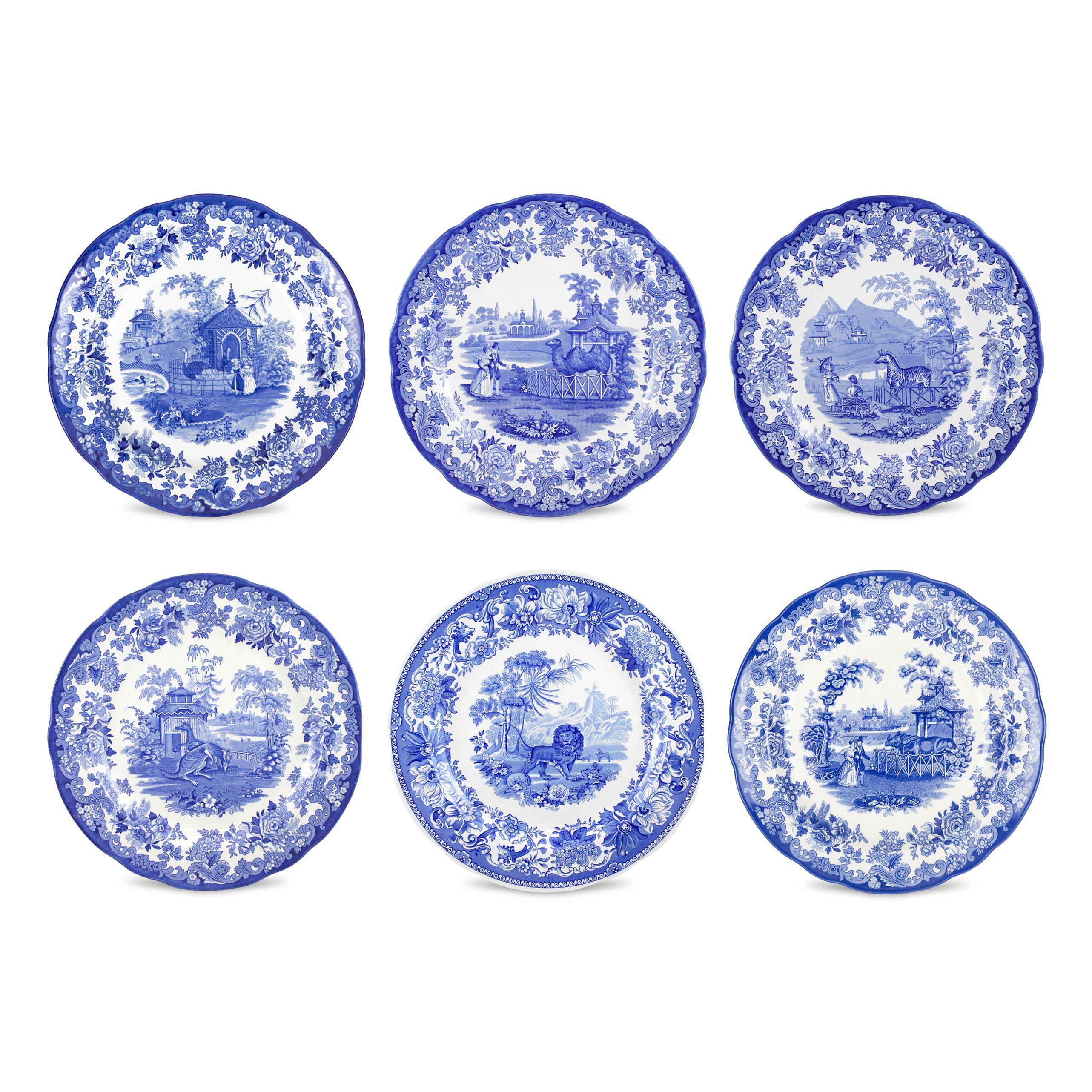 Spode Blue Room Floral Plate