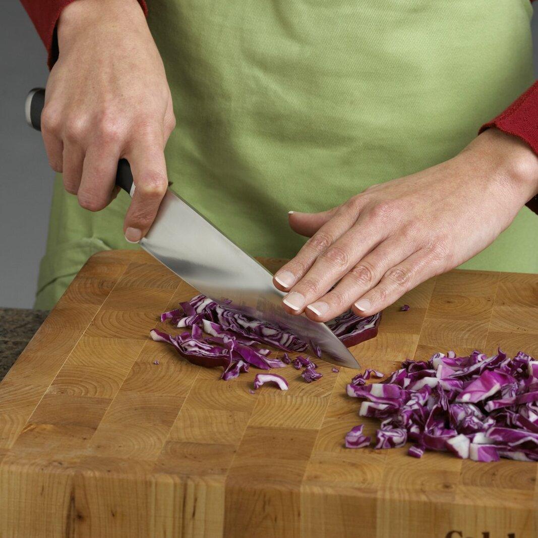 calphalon contemporary cutlery 8 quot chef s knife amp reviews calphalon classic sharpin 15 piece self sharpening knife