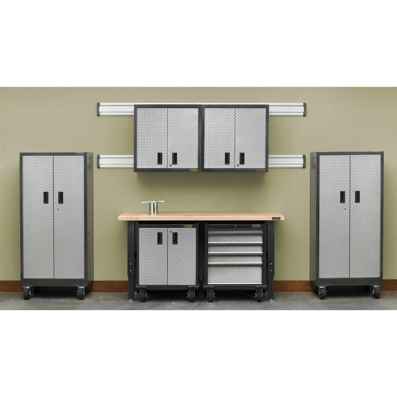 gladiator 27 maple top for premier garage cabinets. Black Bedroom Furniture Sets. Home Design Ideas