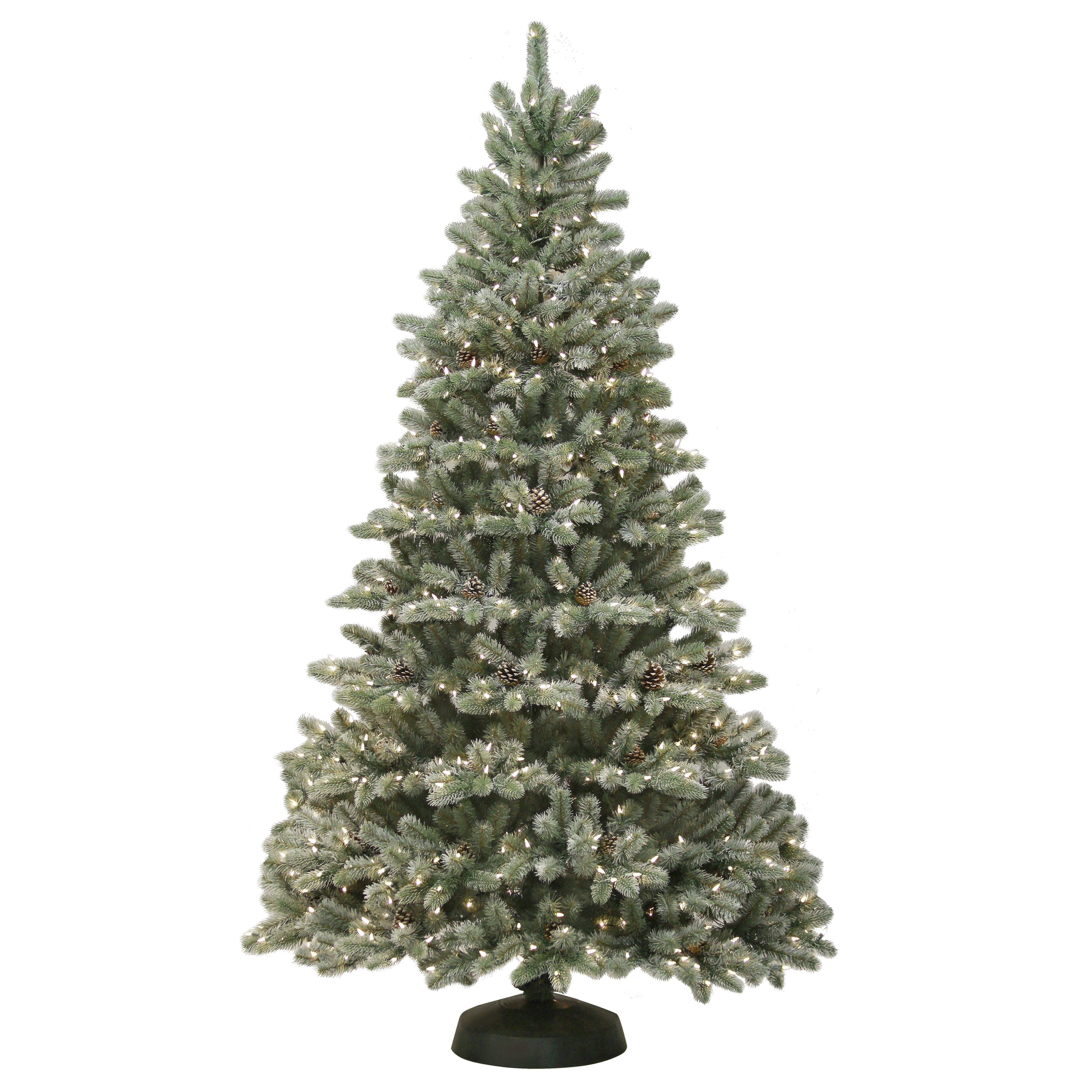 General Foam Plastics Kincade 7' Green Artificial Christmas Tree ...