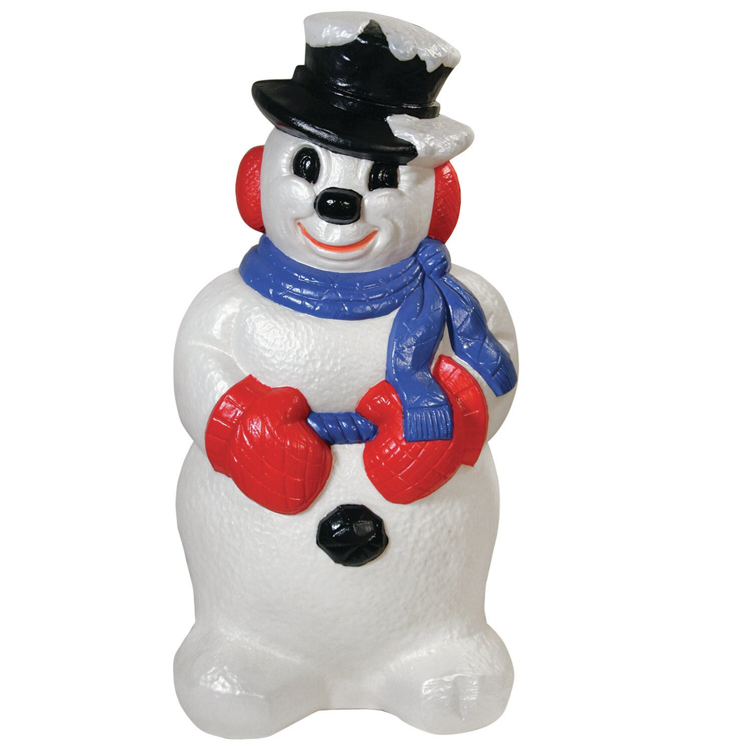 General Foam Plastics Derby Snowman Figurine Amp Reviews
